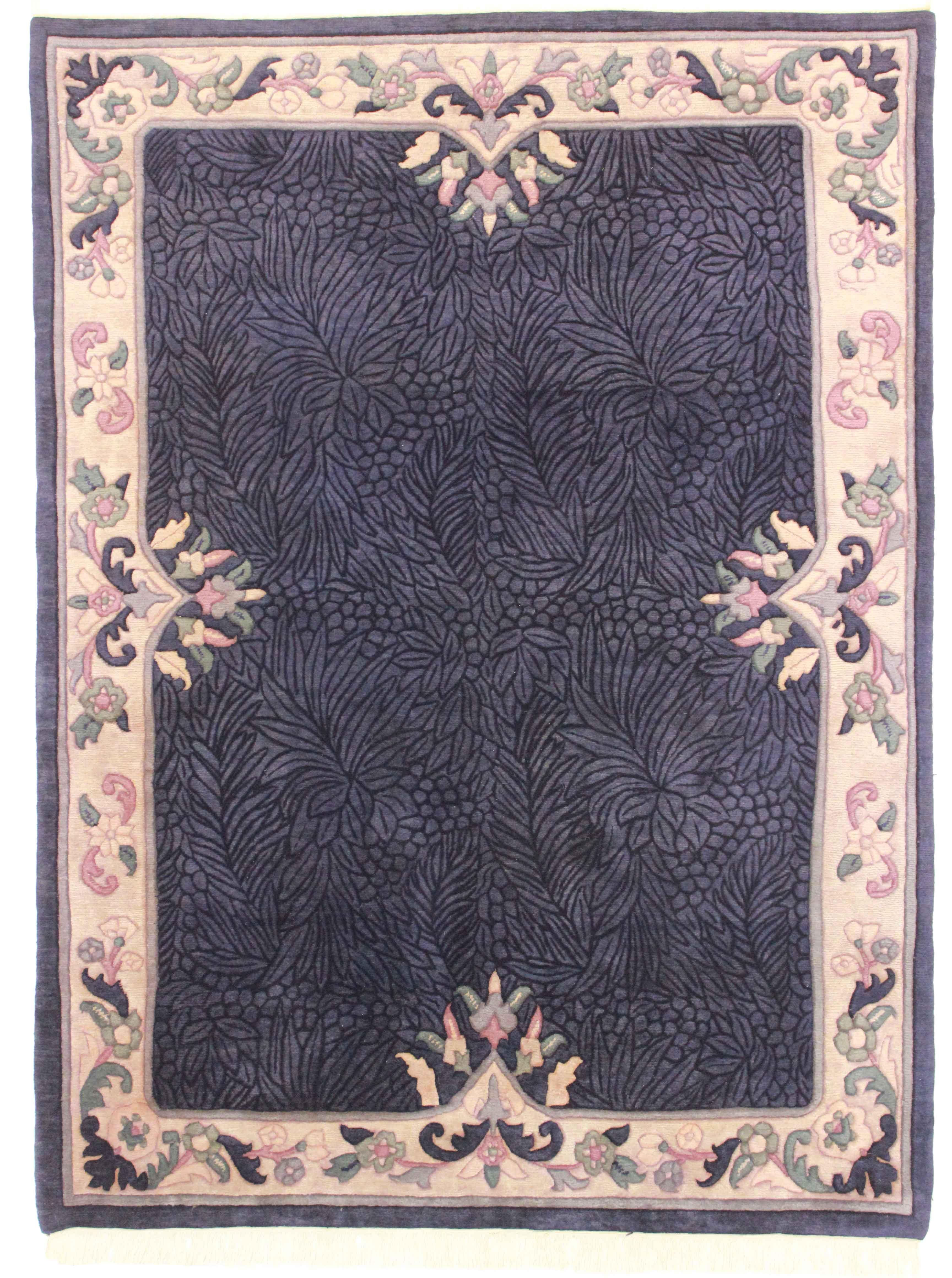 Rugsindallas Hand Knotted Wool Indian Rug 5 5 215 7 4
