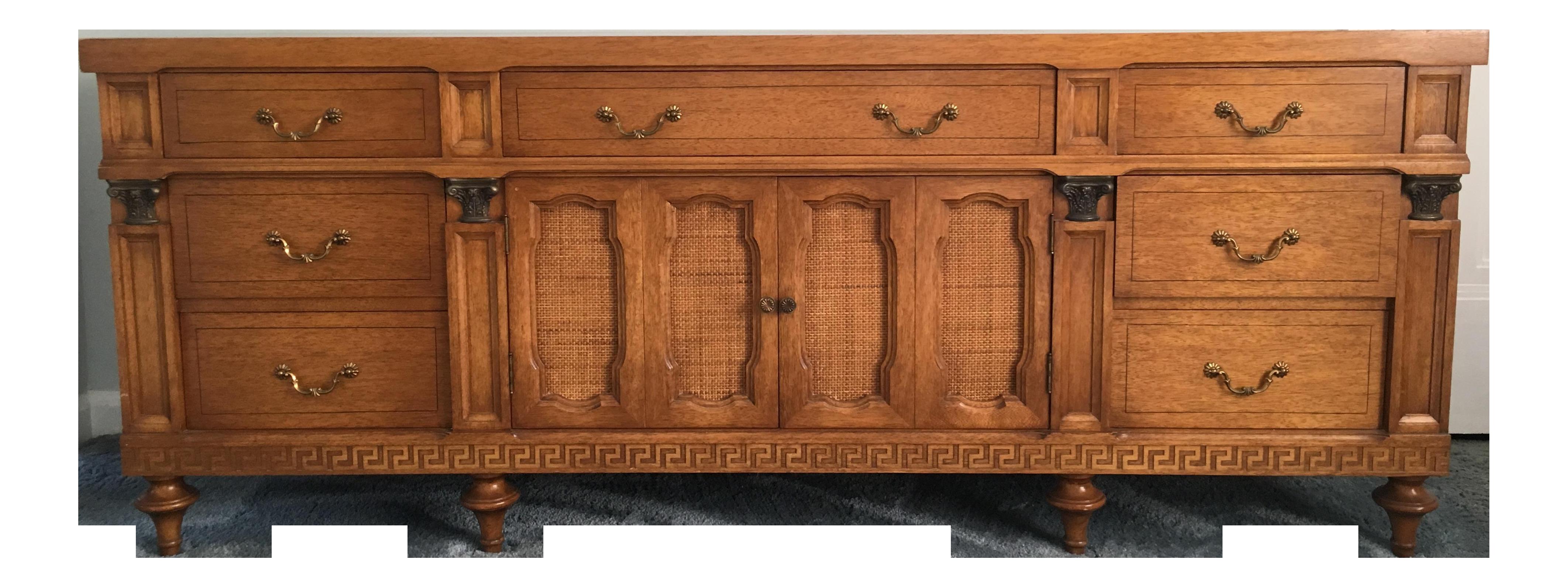 Daniel Jones Vintage Bedroom Long Dresser