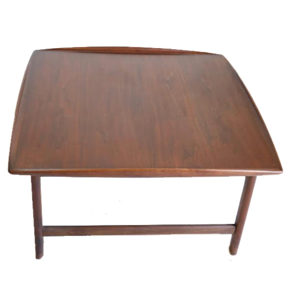 Danish Mid Century Teak Coffee Table 1 Small: Danish Mid Century Modern Teak Coffee Table