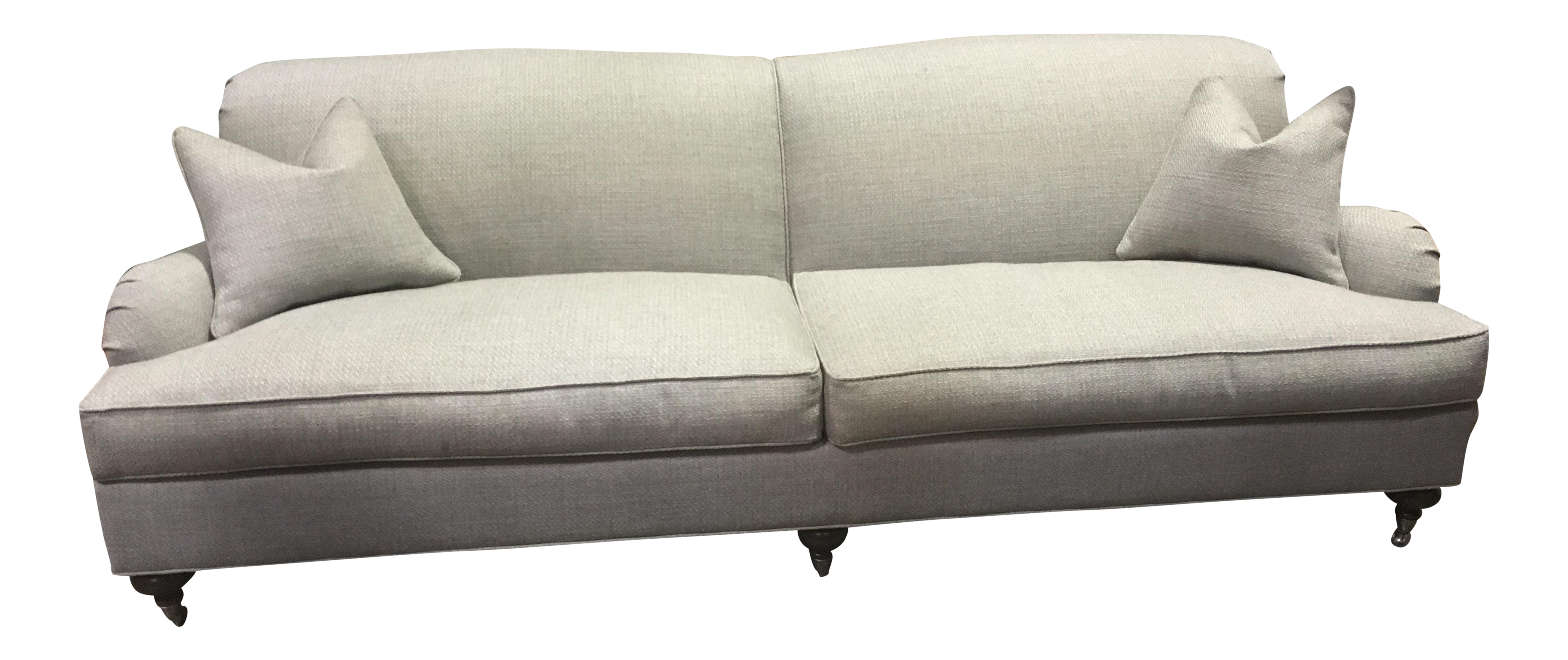 Ethan Allen Oxford Sofa Chairish