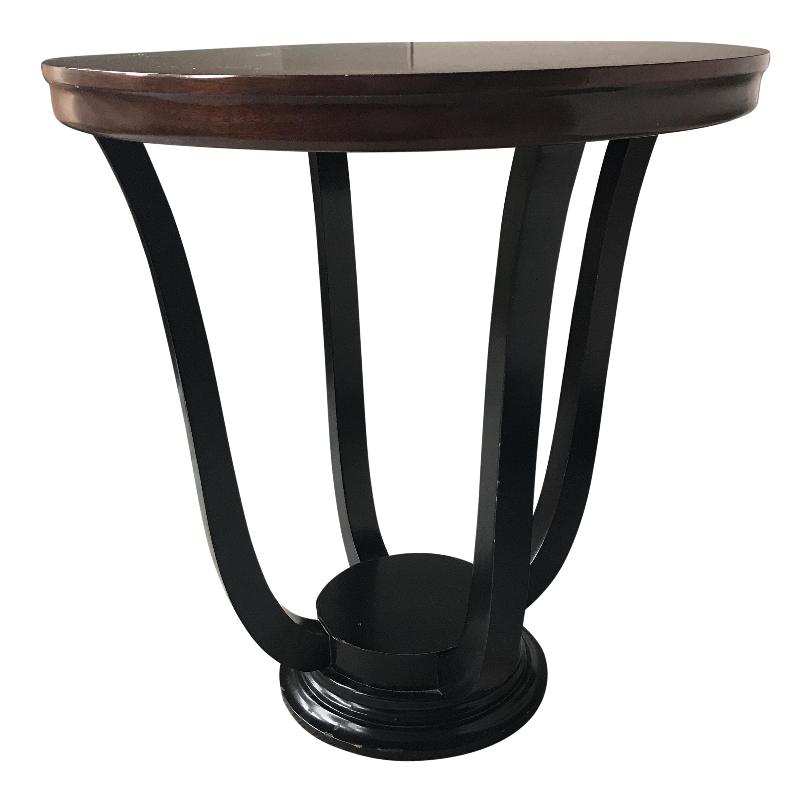 Williams Sonoma Home Lyre Side Table Chairish