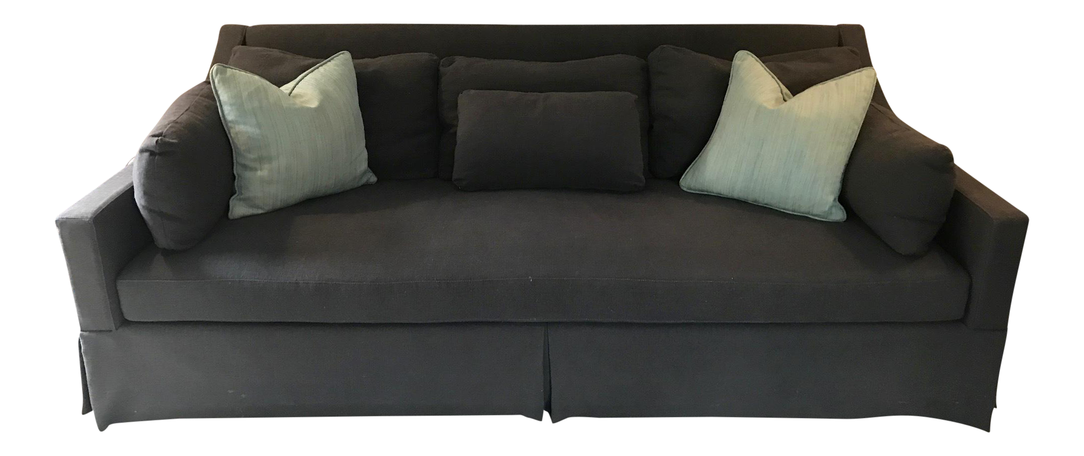 Bernhardt Single Cushion Traditional Sofa Chairish