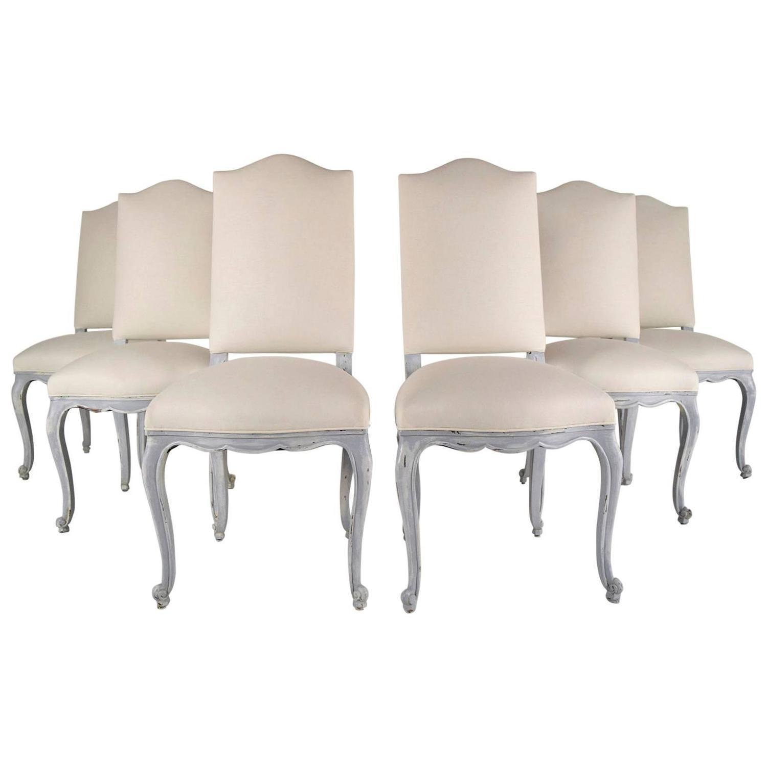 Louis xv dining chair - Image Of French Antique Louis Xv Dining Chairs Set Of 6