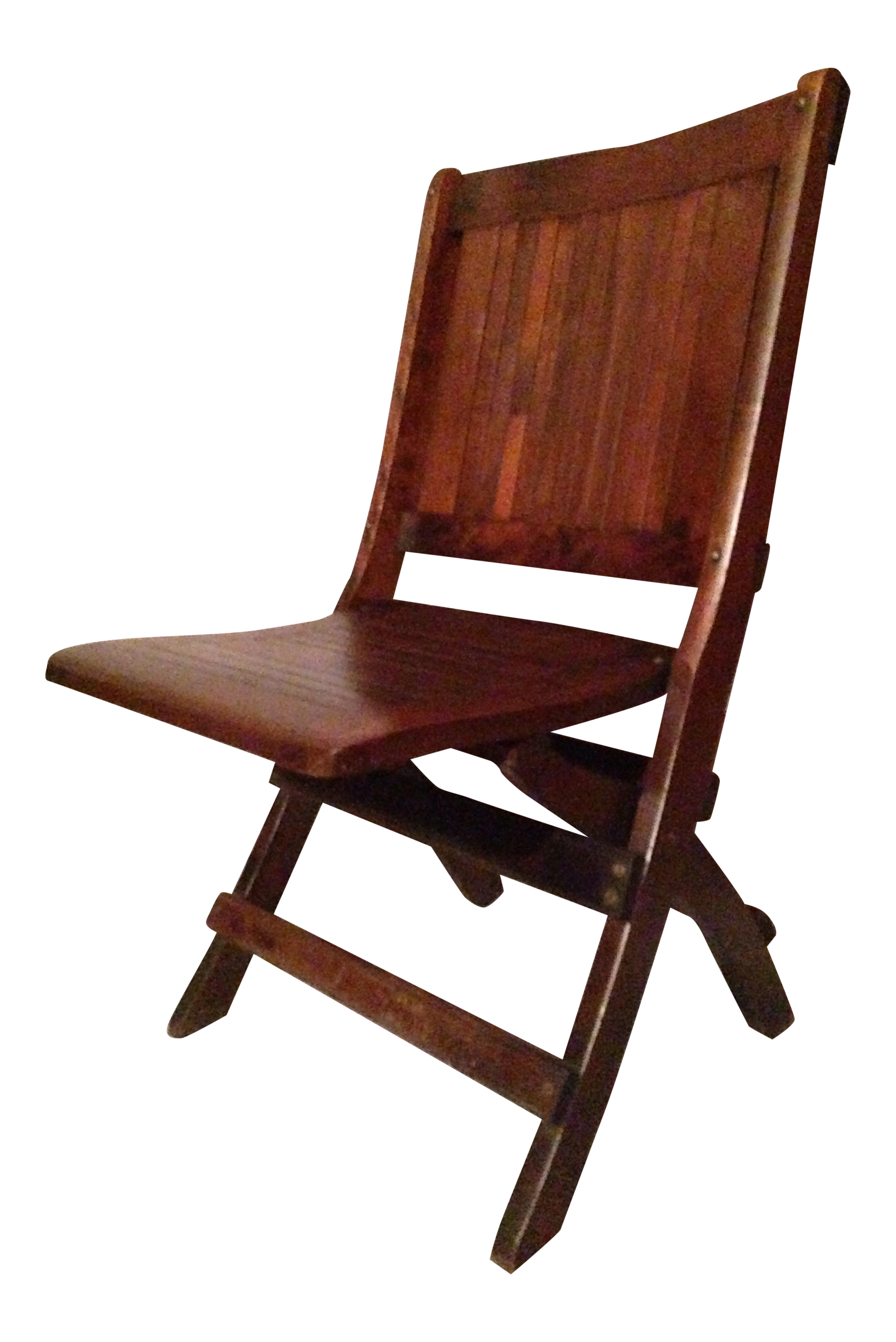 Eight Antique 1880 1890 Readsboro Wooden Folding Chairs