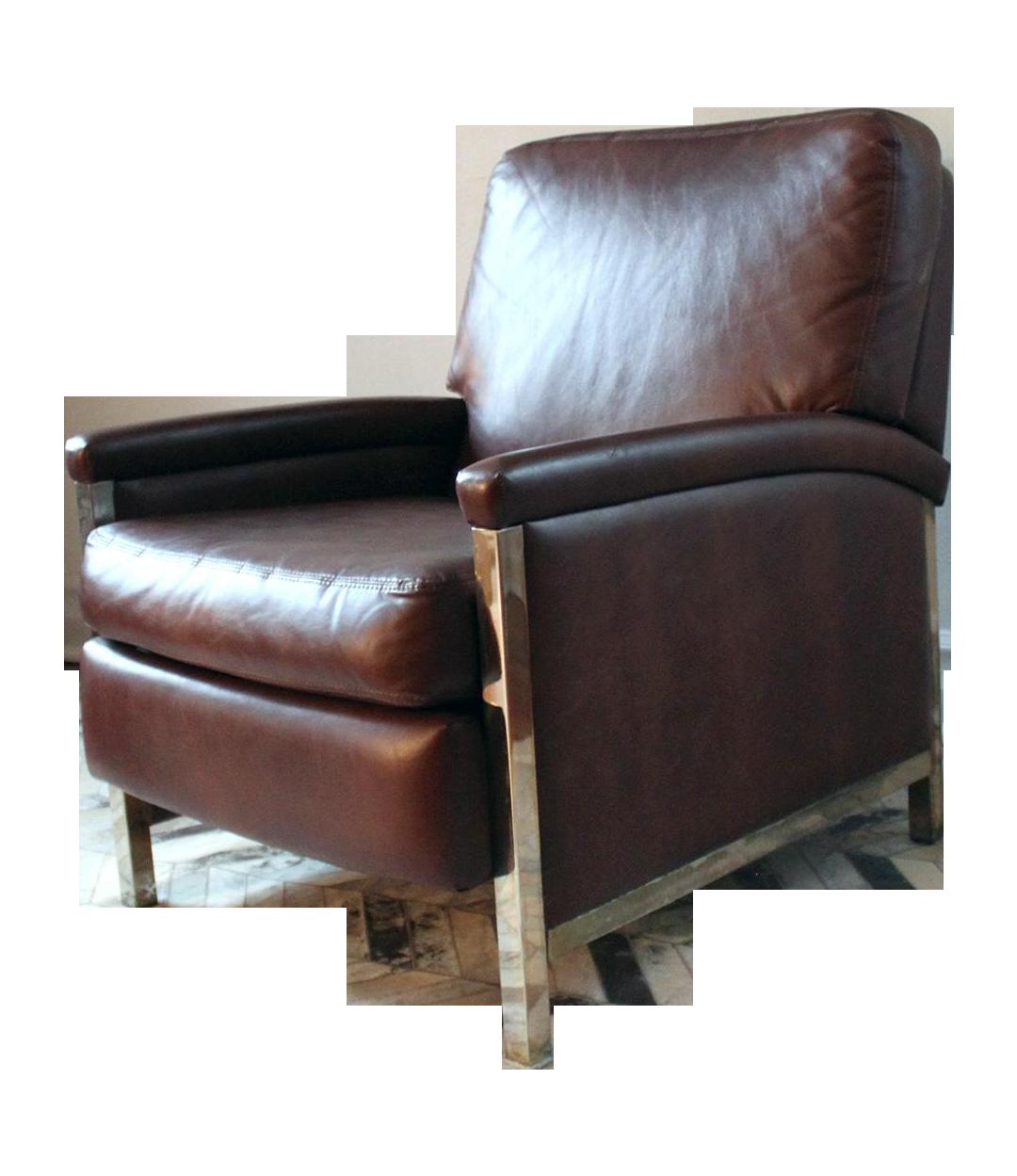 Vintage barcalounger recliner chairish for Barcalounger