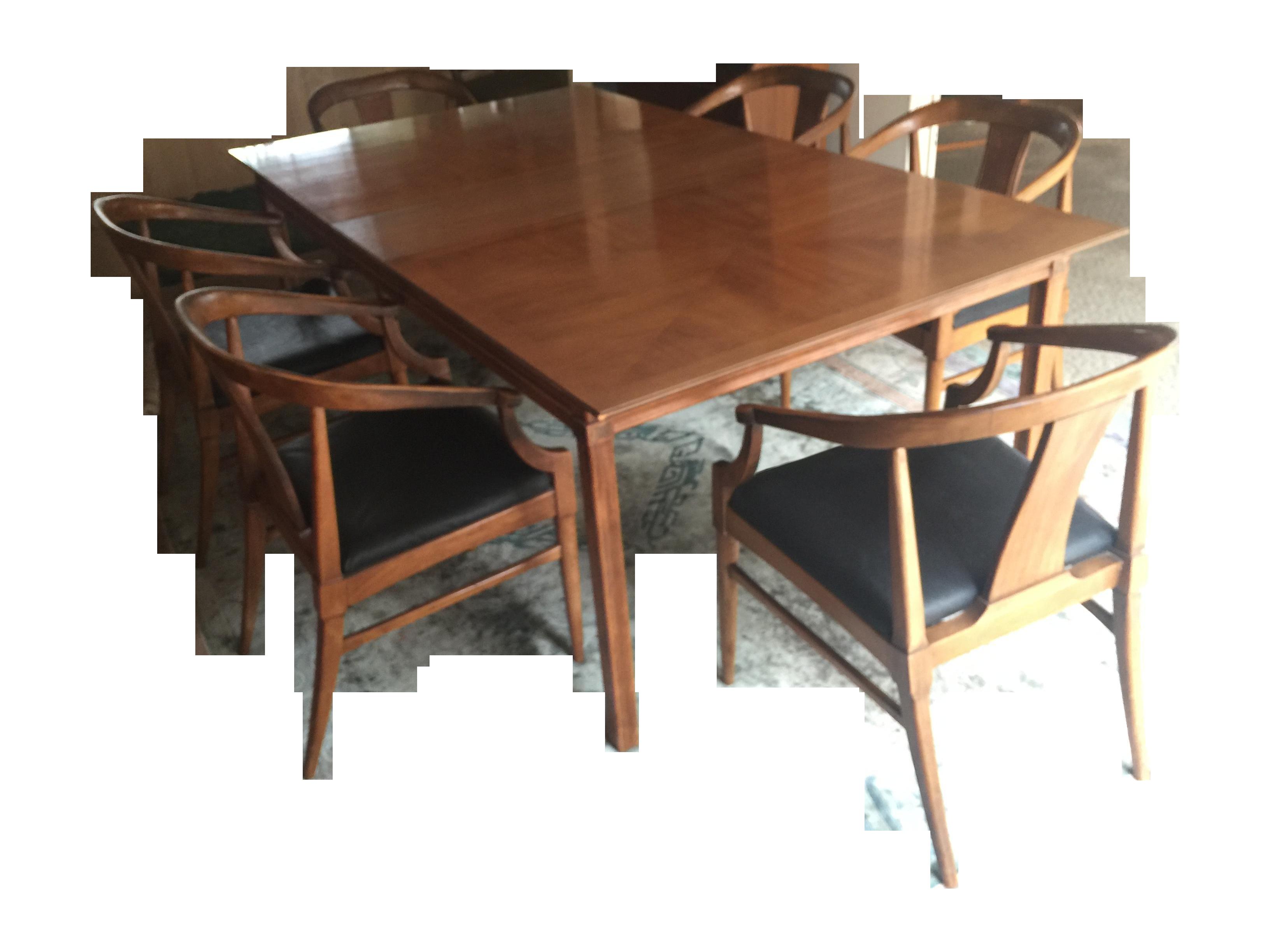Thomasville Vintage Mid Century Dining Set