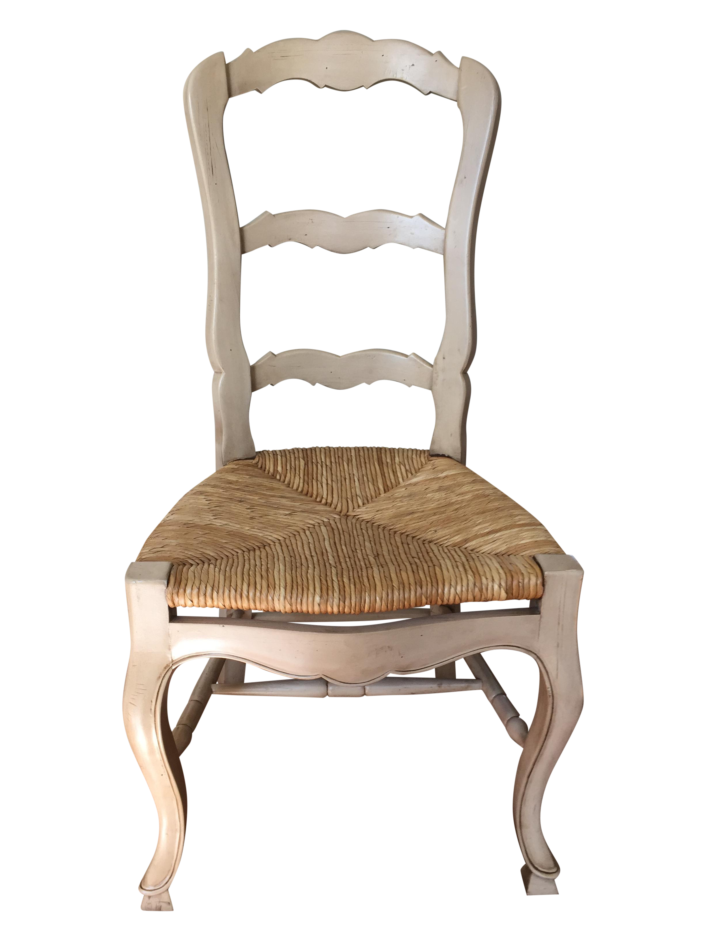 cream colored chairs colored ladder back dining chairs set of 4 chairish 13590 | 773c8275 f129 402e a33e b7b931822cbd