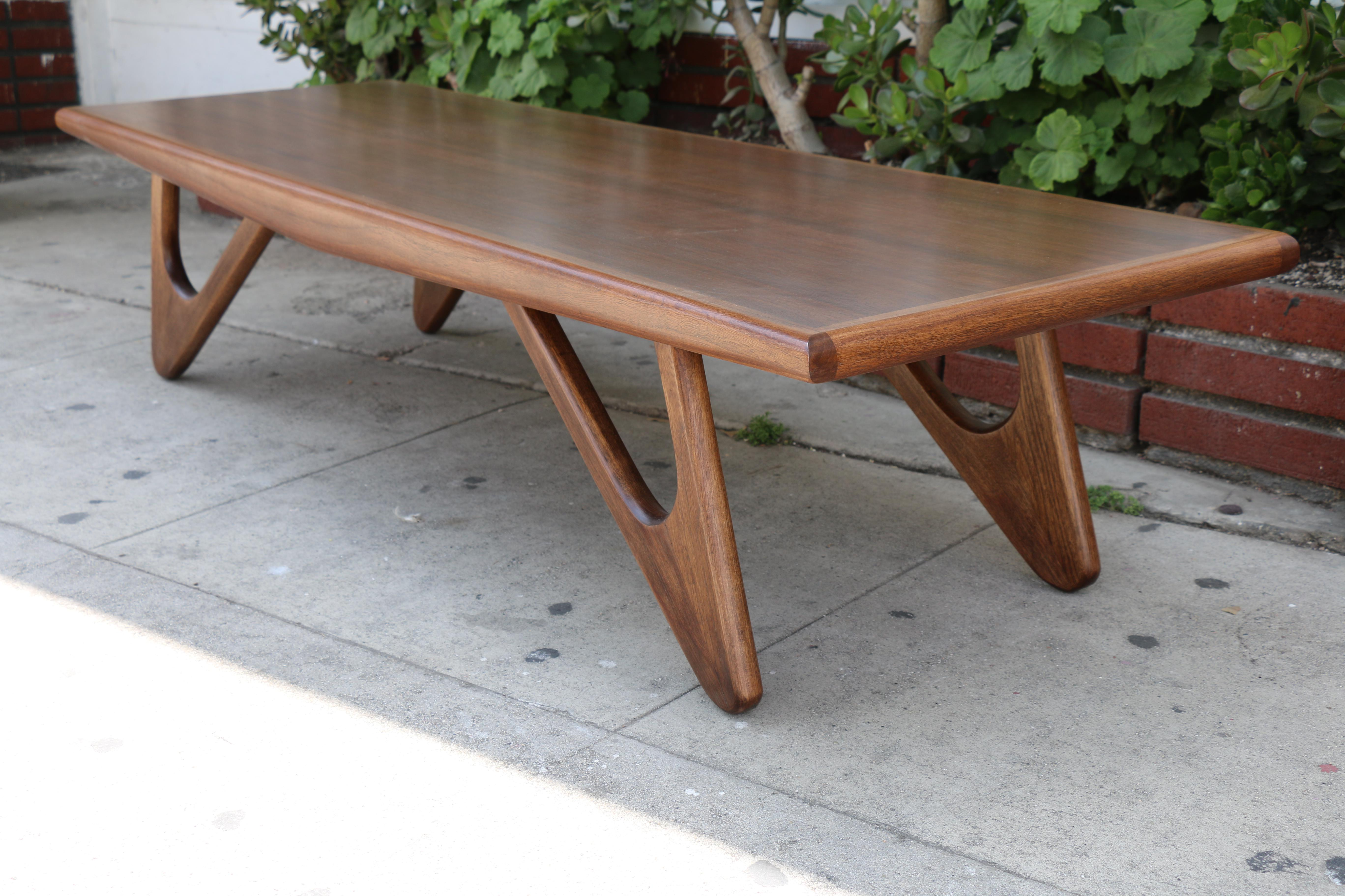 adrian pearsall style coffee table | chairish