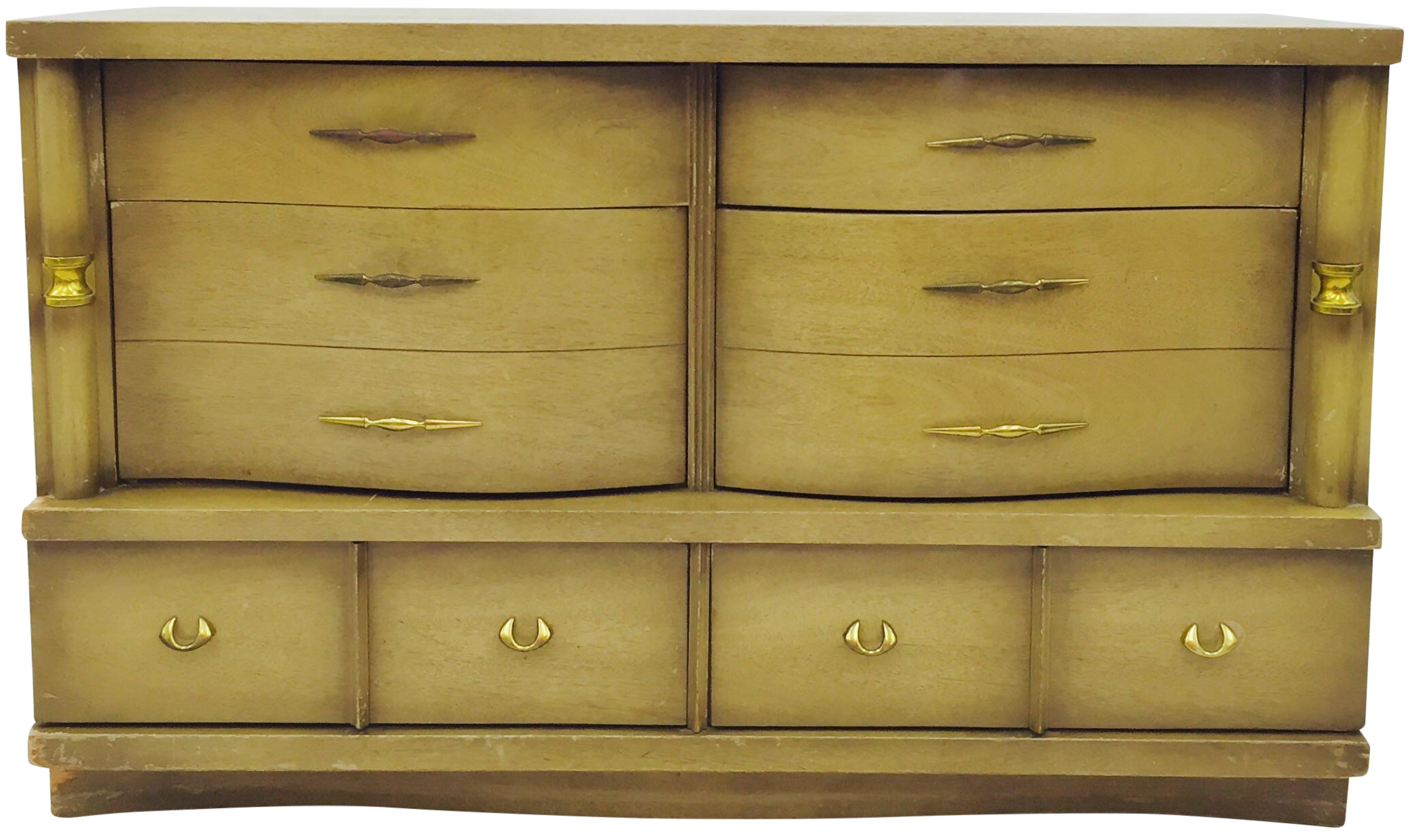 Bassett furniture mid century dresser chairish for Bassett furniture