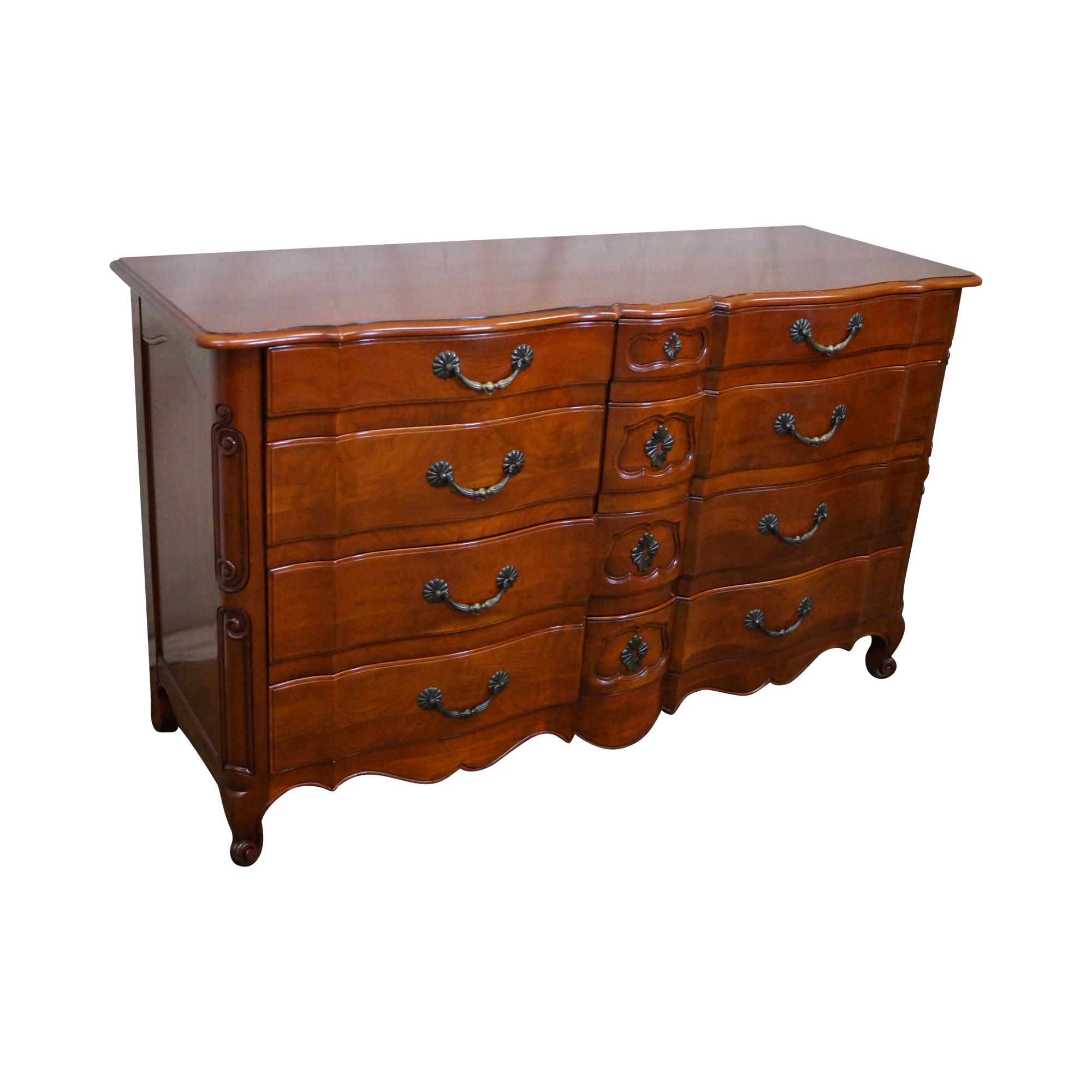Image Of John Widdicomb Vintage French Louis Xv Dresser