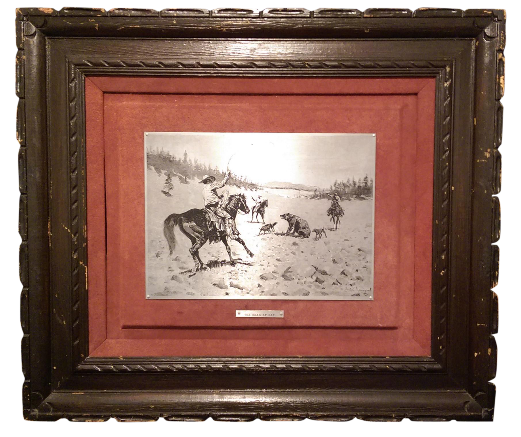 1969 Frederic Remington Steel Plate Etching Chairish