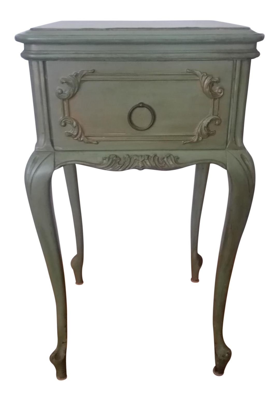Antique Widdicomb Furniture Co. French Provincial Side Table | Chairish