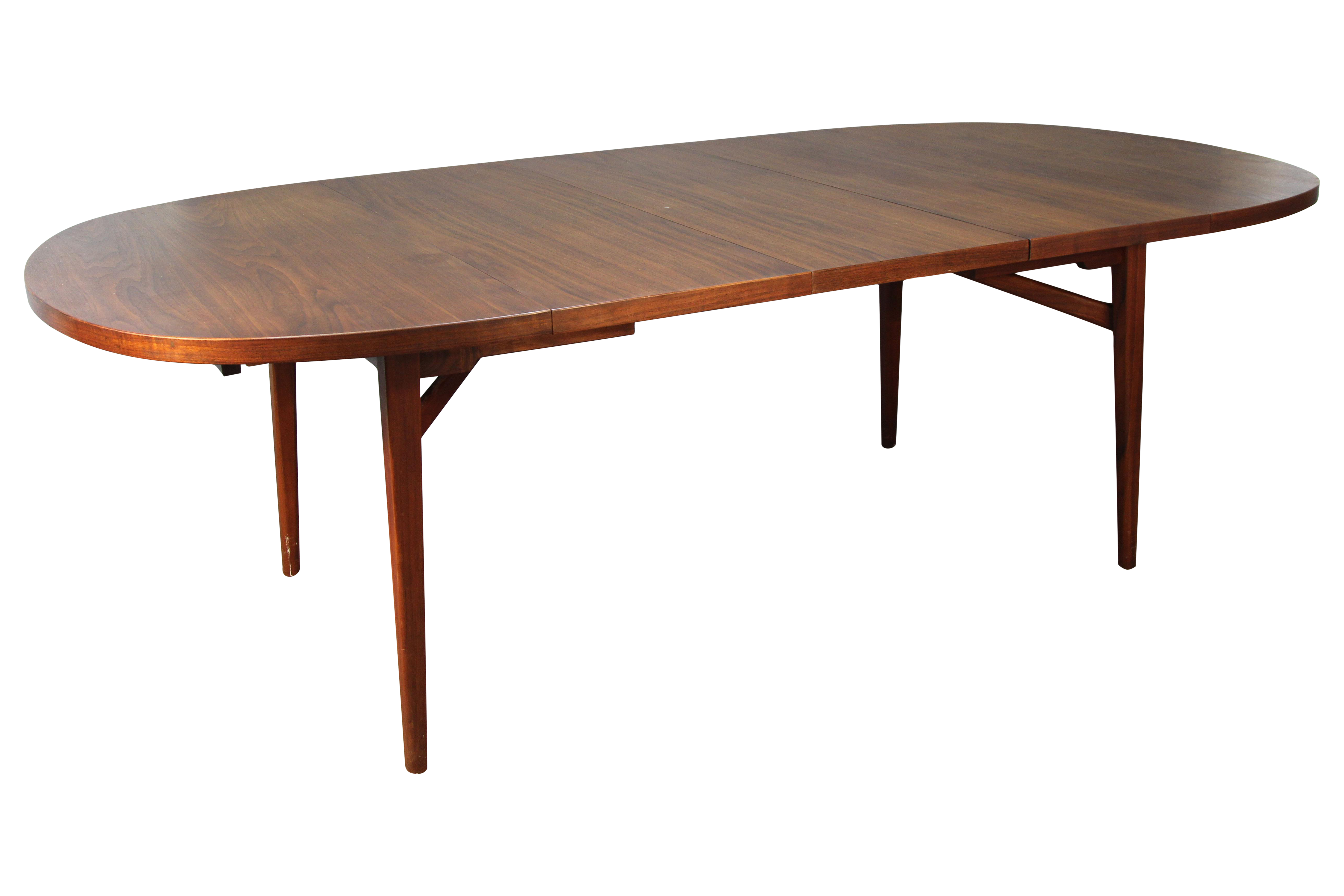 Jens Risom Floating Dining Room Table Expandable