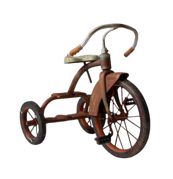 Tricycle Restoration Parts : Vintage tricycle chairish
