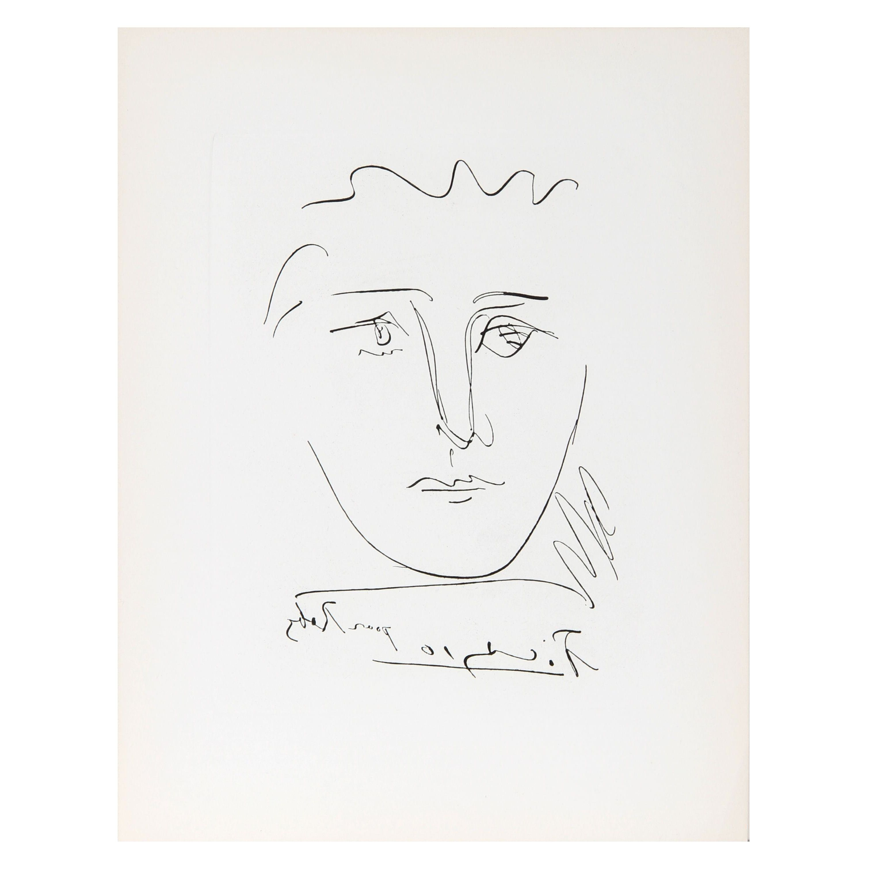 Pablo Picasso - L\'Age De Soleil Pour Roby Etching | Chairish