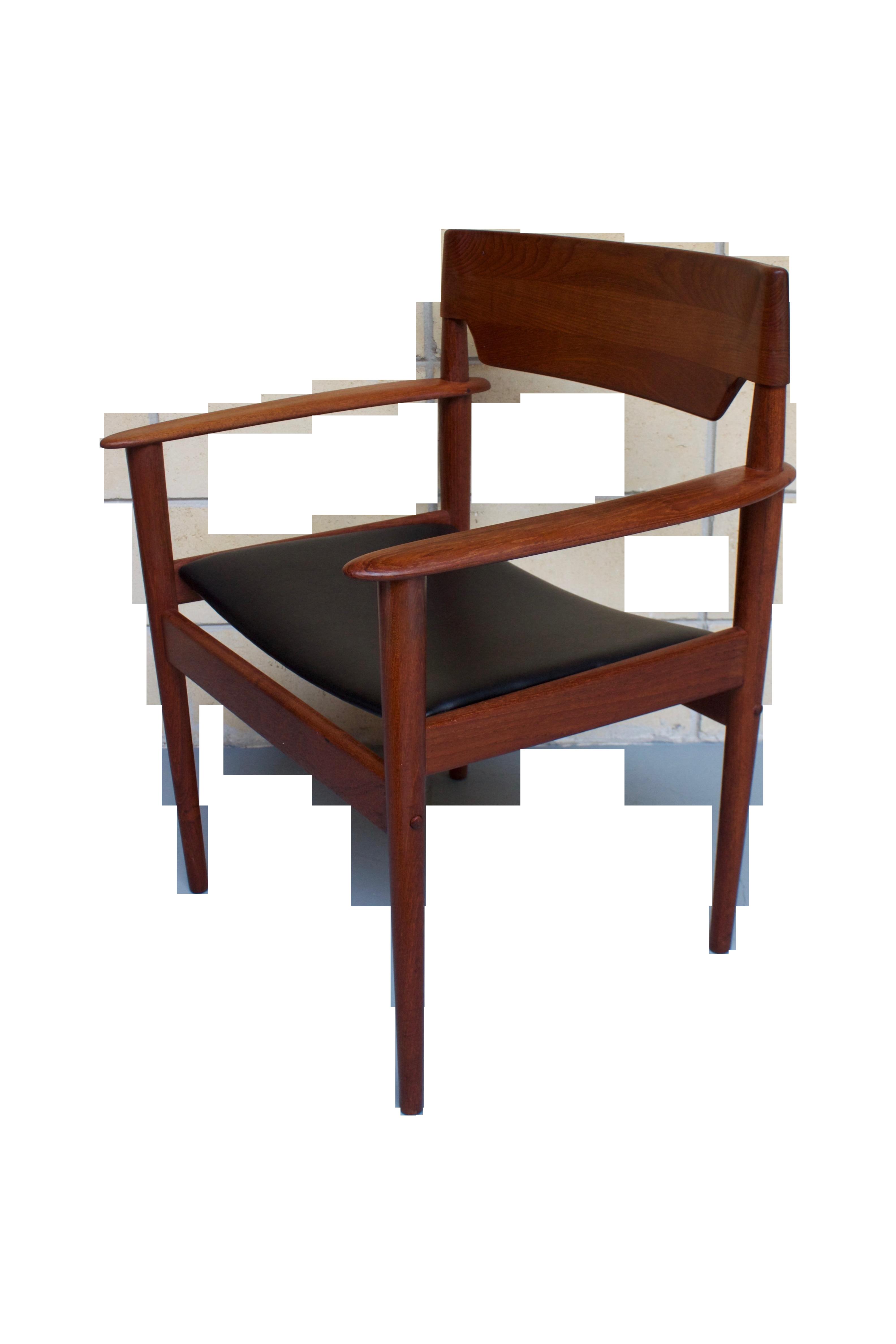 Grete jalk pj 4 2 p jeppesen danish chair chairish for P jeppesen furniture
