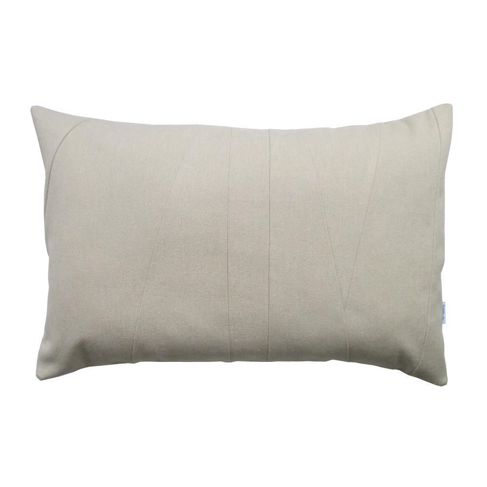 Beige Lumbar Throw Pillow Chairish