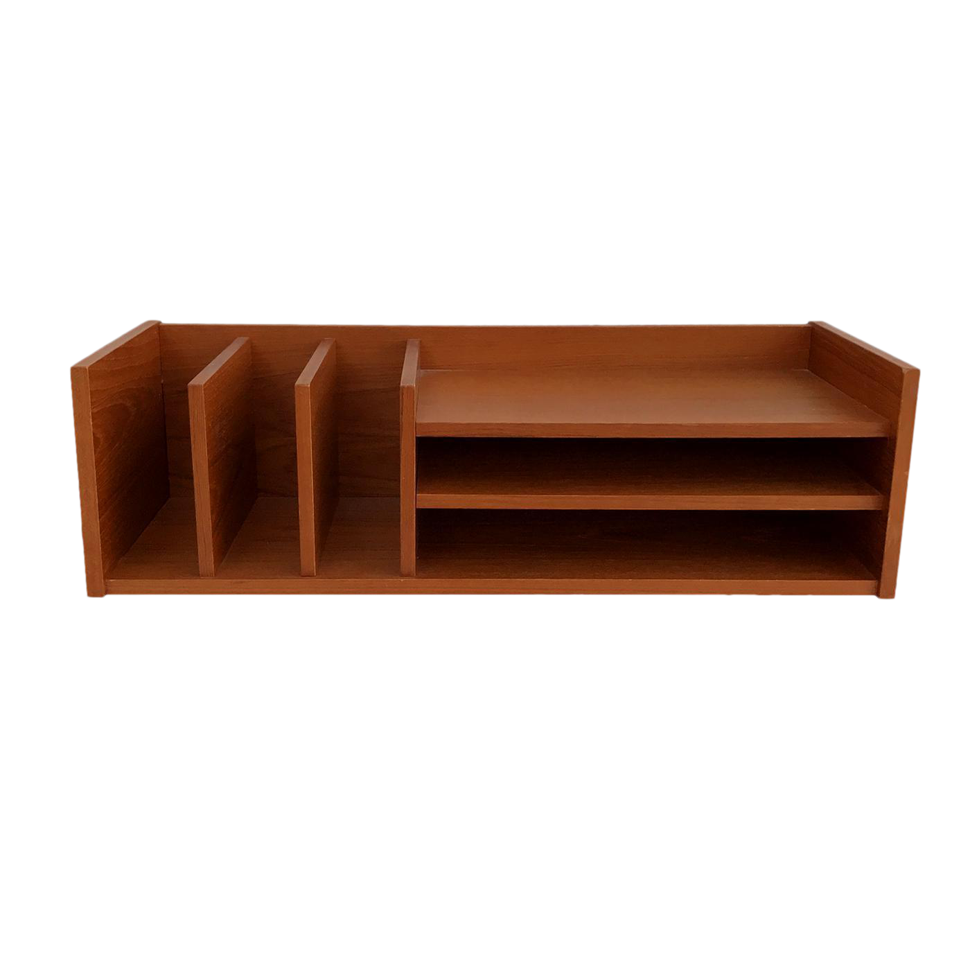 Danish Modern Teak Desk Organizer By Georg Petersen Mid