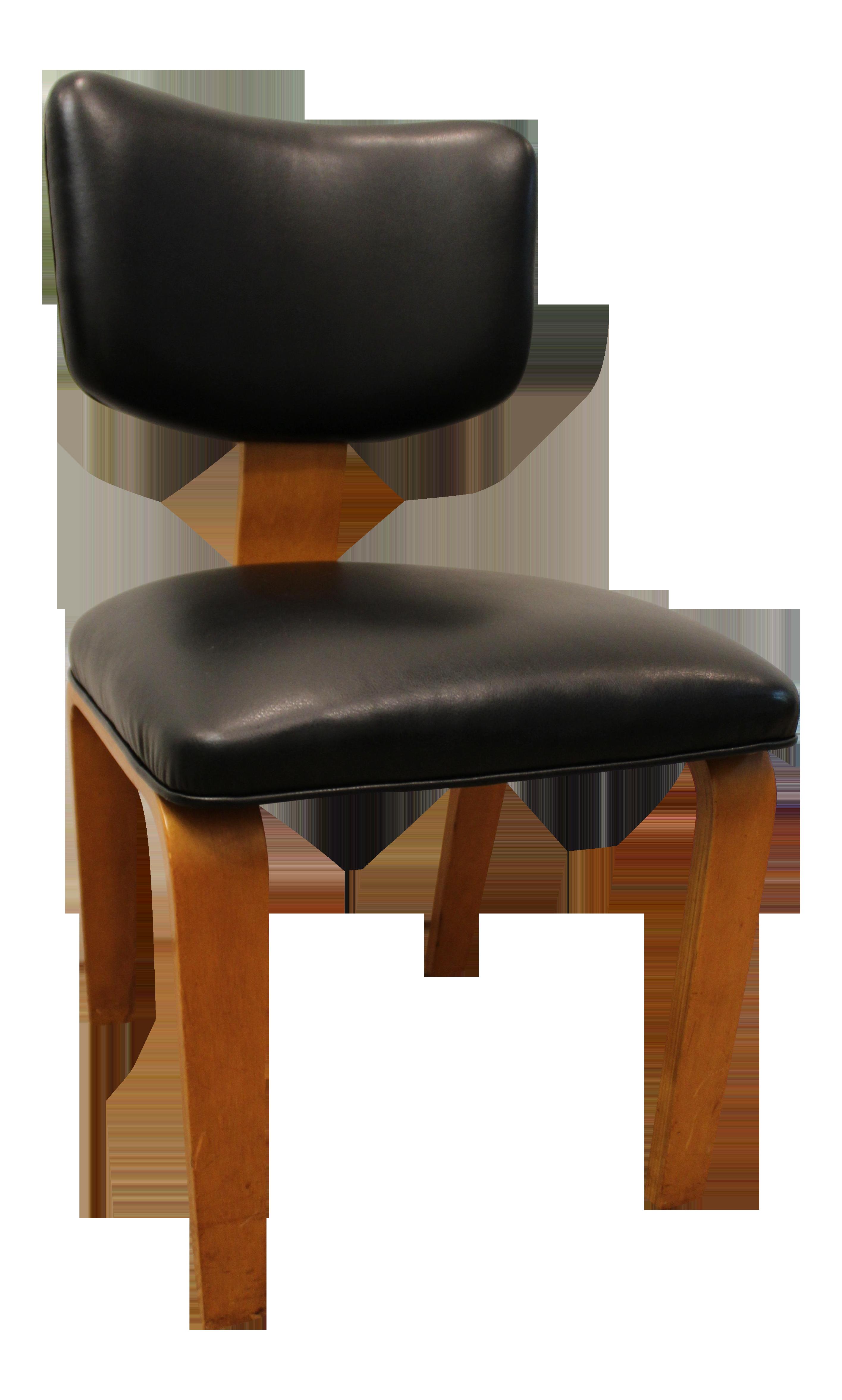 Bentwood chair modern - Image Of Mid Century Danish Modern Joe Atkinson For Thonet Nailhead Bentwood Side Chair