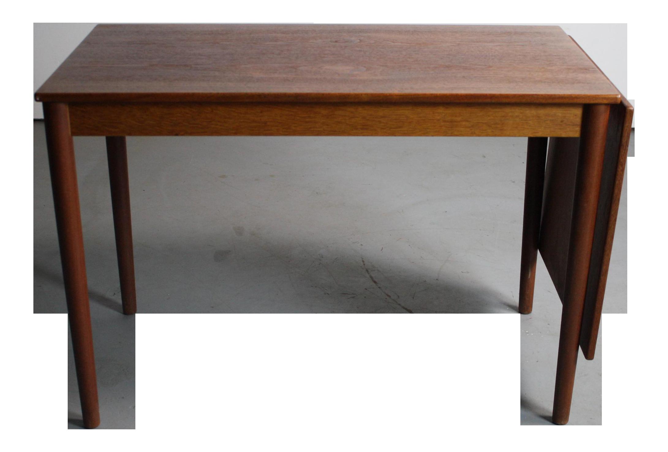 sleek & simple arne vodder danish modern writing desk | chairish