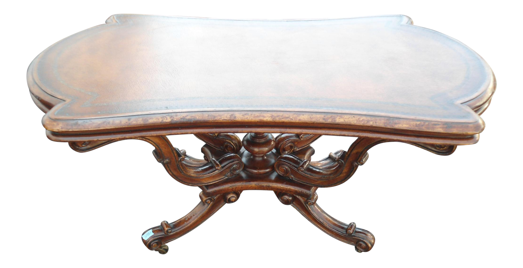 European Crossroads by John Richards Coffee Table on Casters