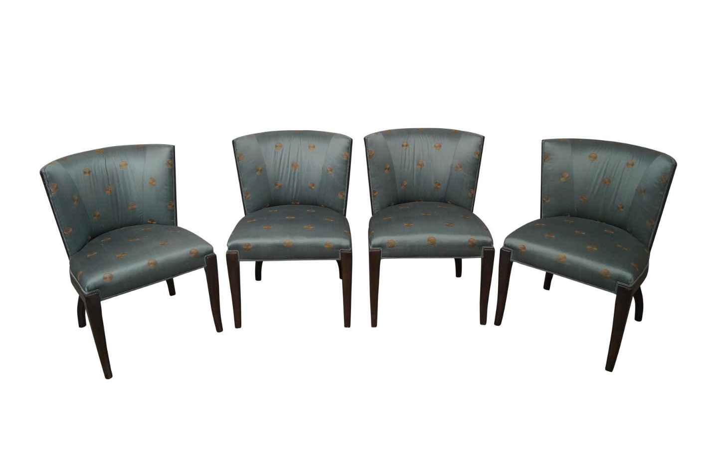 Ferguson Copeland Occasional Club Or Side Chairs Set Of 4 Chairish