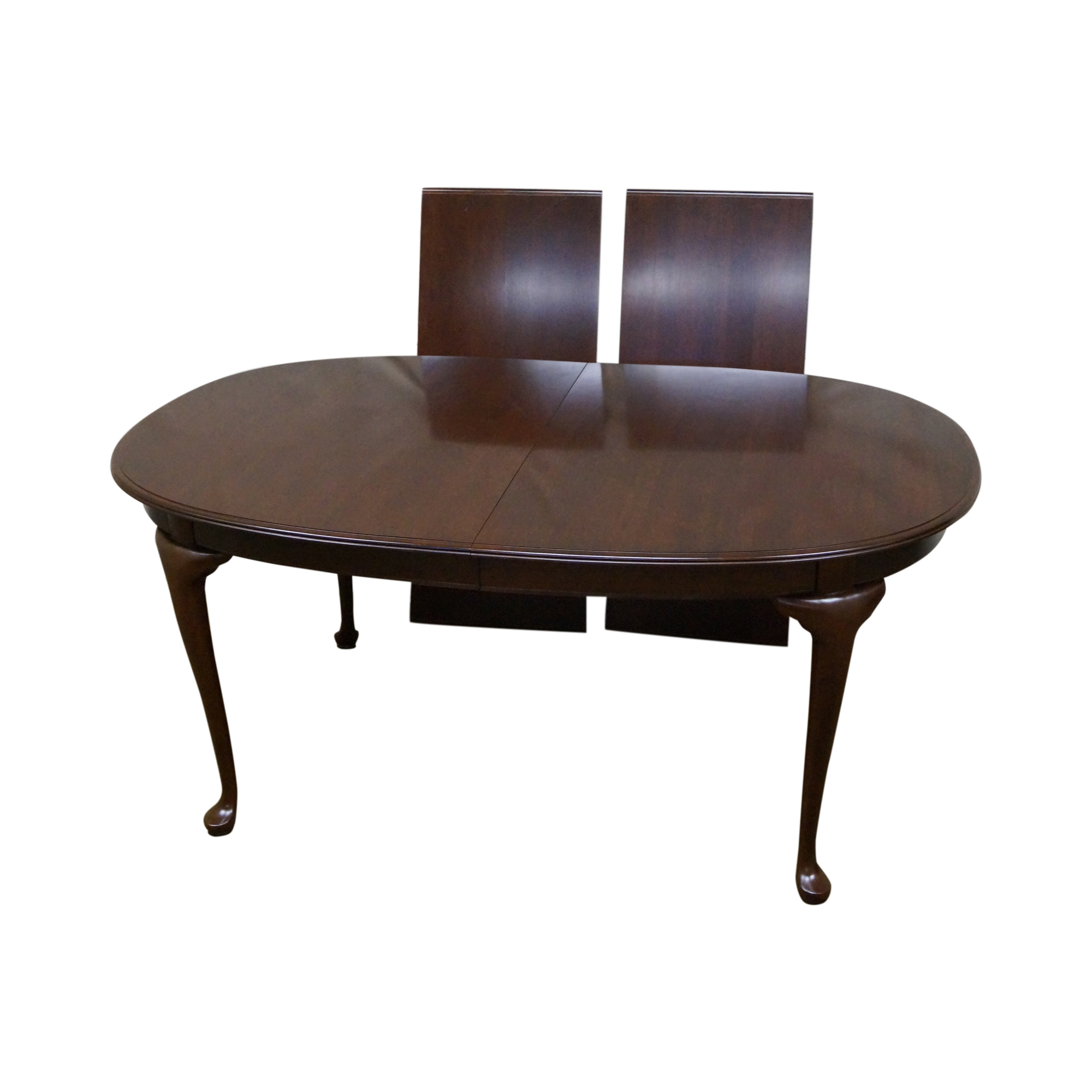 Image Of Kling Colonial Cherry Queen Anne Dining Table
