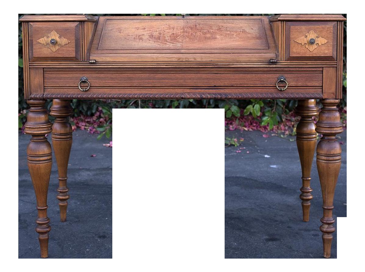 Vintage Grand Rapids Secretary Desk Chairish
