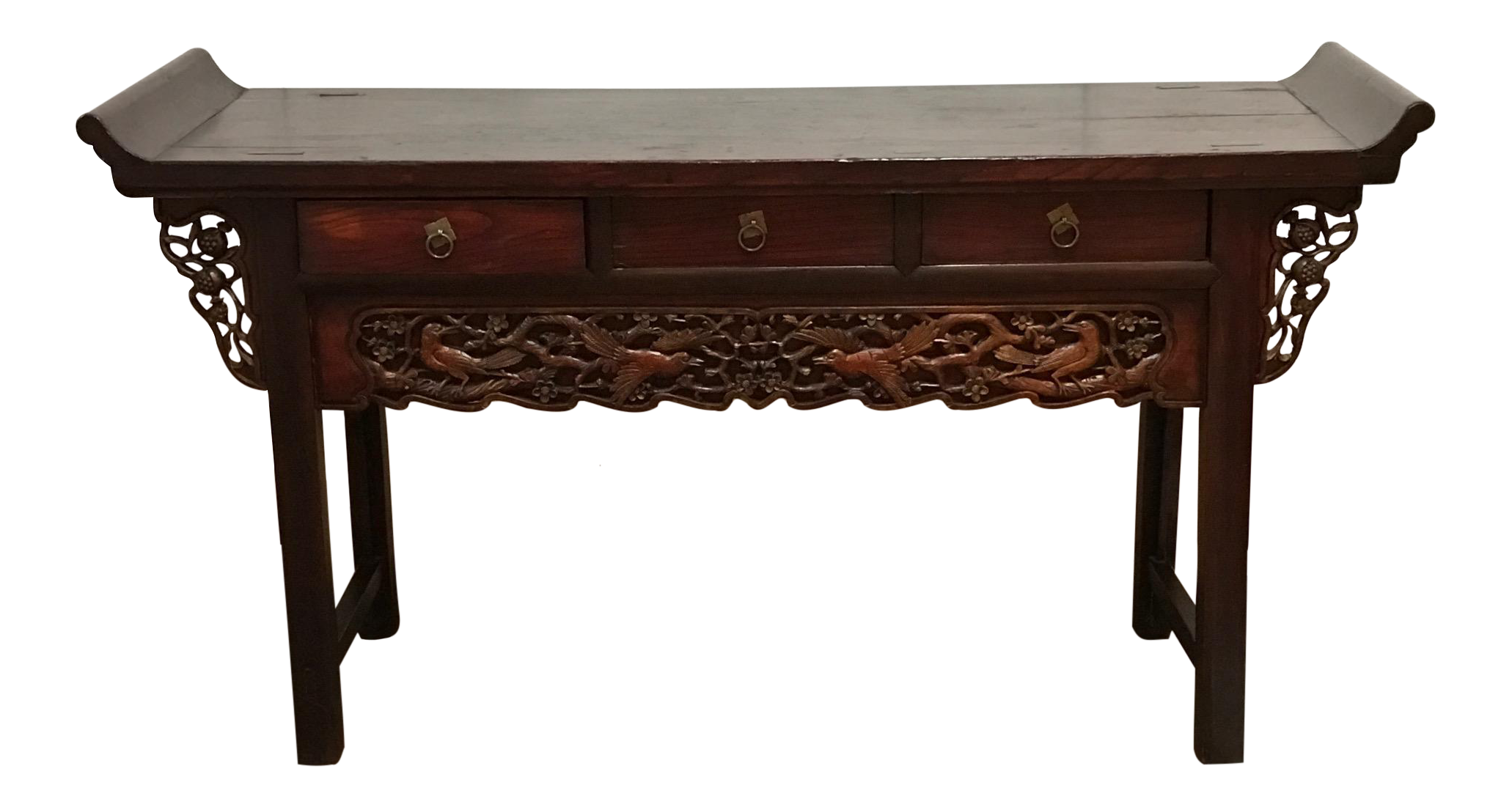 19th century antique chinese altar console table chairish geotapseo Gallery