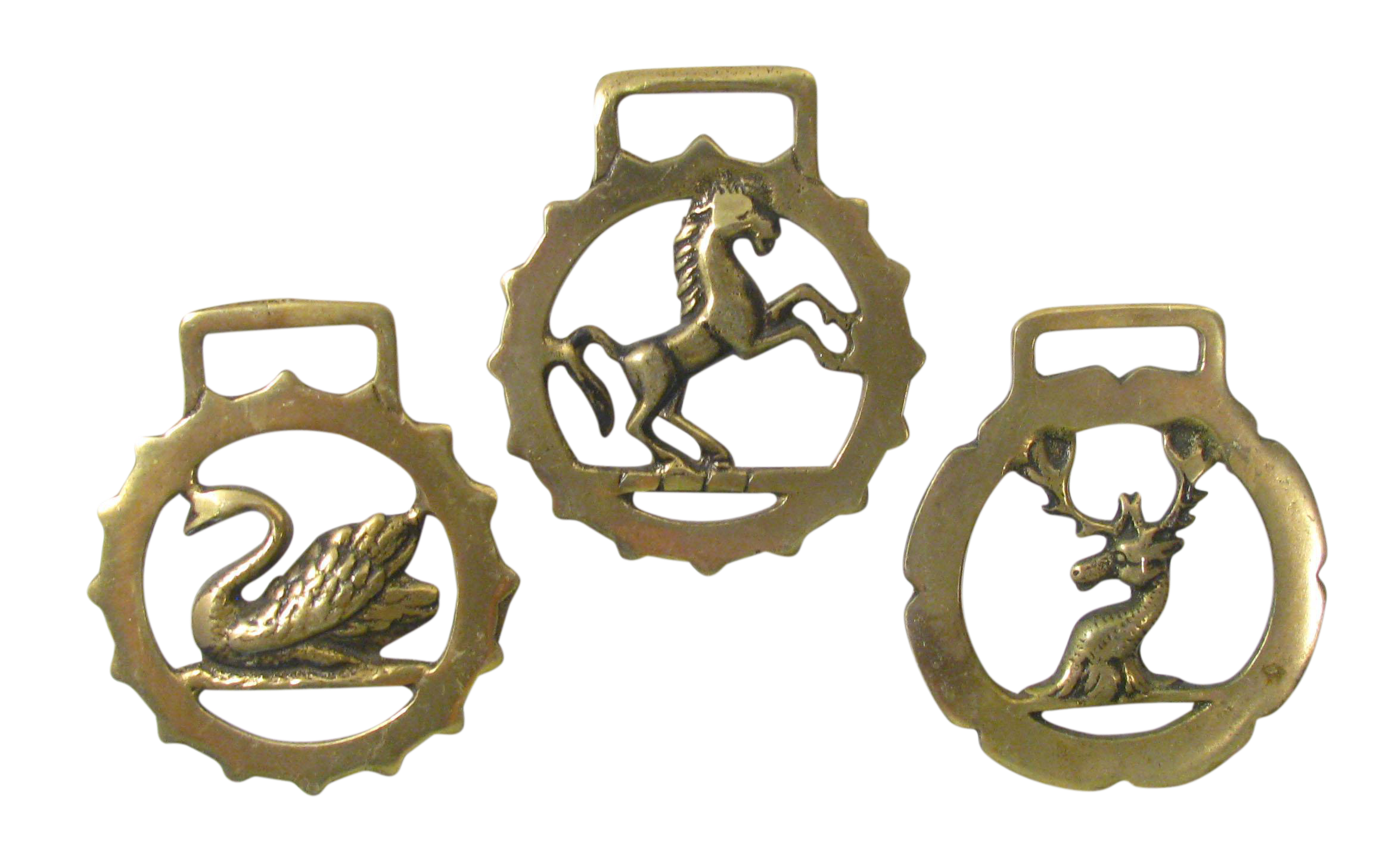 Vintage English Horse Brasses S 3 Chairish