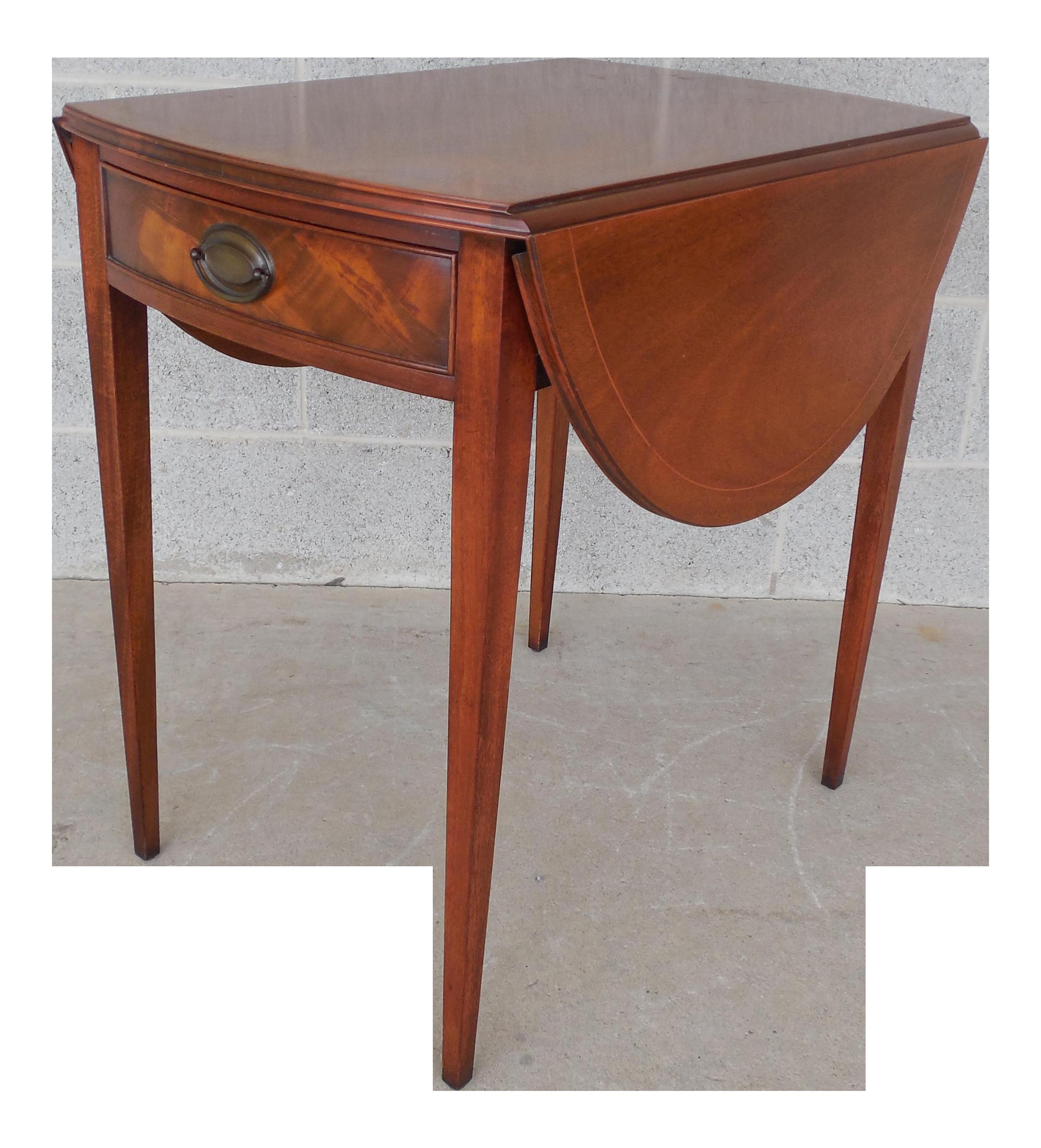 Henredon Vintage Federal Style Pembroke End Table Chairish : henredon vintage federal style pembroke end table 7393 from www.chairish.com size 2463 x 2714 png 4328kB