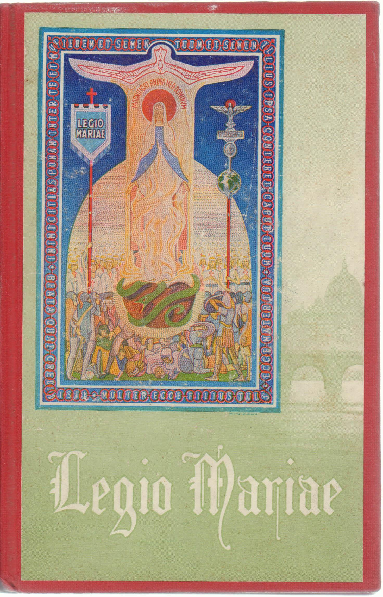 1962 The Official Handbook Of The Legion Of Mary Book