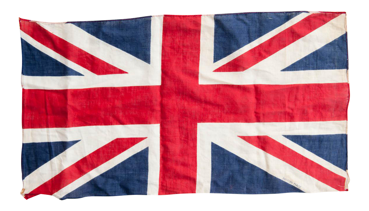 Circa 1940s Vintage British Union Jack Flag Chairish