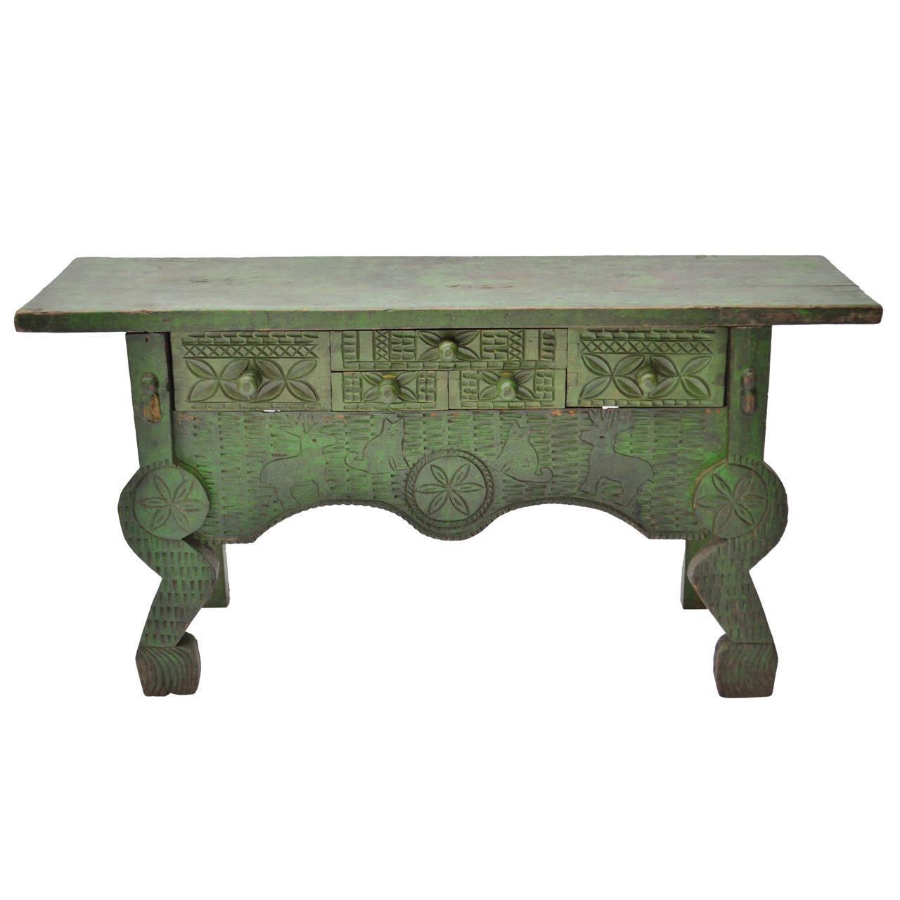 Nahuala table animal spirit table chairish for Table 6 handbook 44