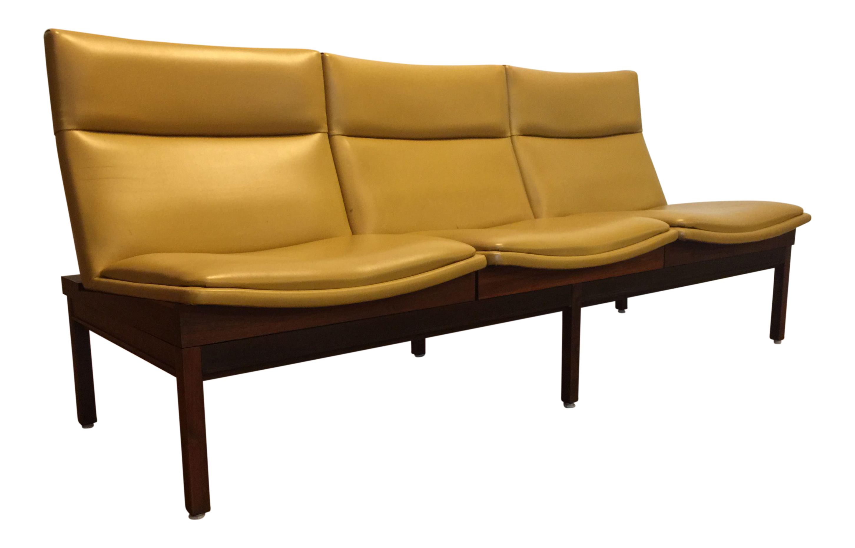 Vintage & Used Yellow Standard Sofas