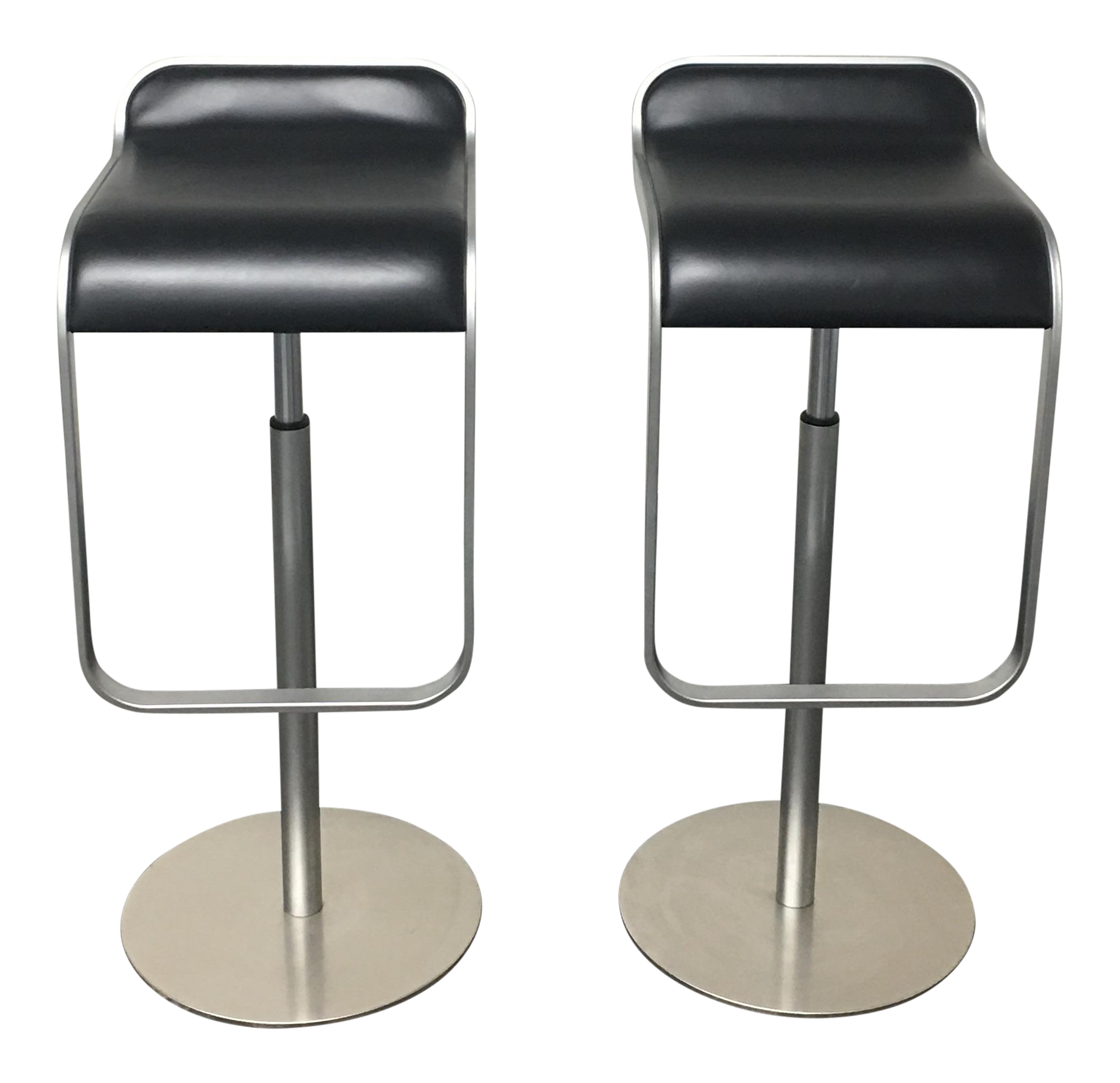 Lem Stools Trendy Lem Style Adjustable Piston Bar Stool