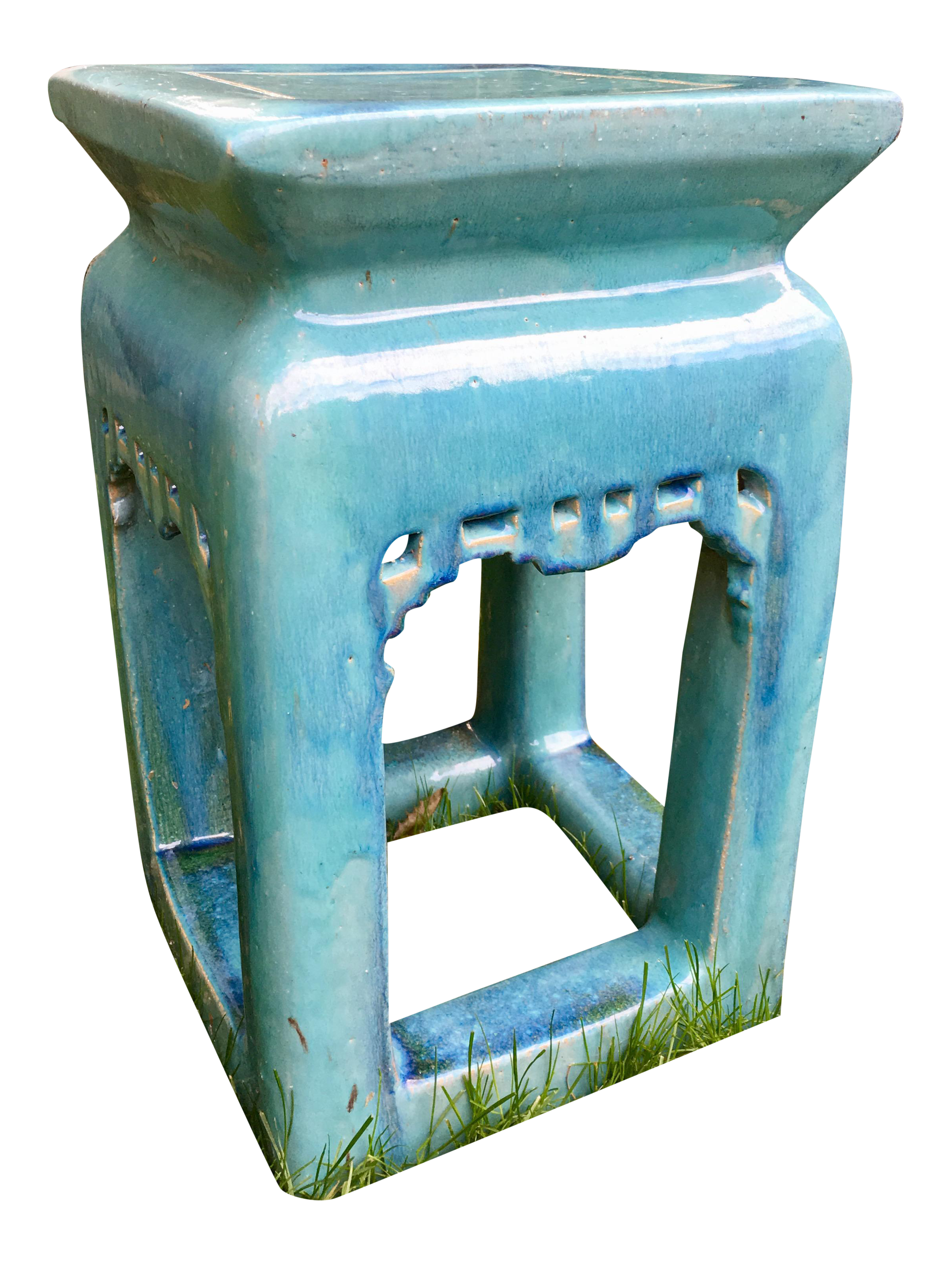 Vintage Chinese Pagoda Garden Stool Chairish