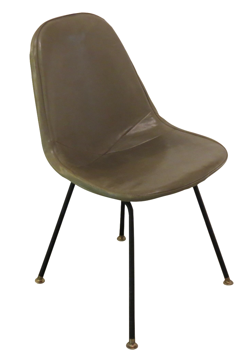 Vintage eames chair - Vintage Eames Wire Chair With Cover