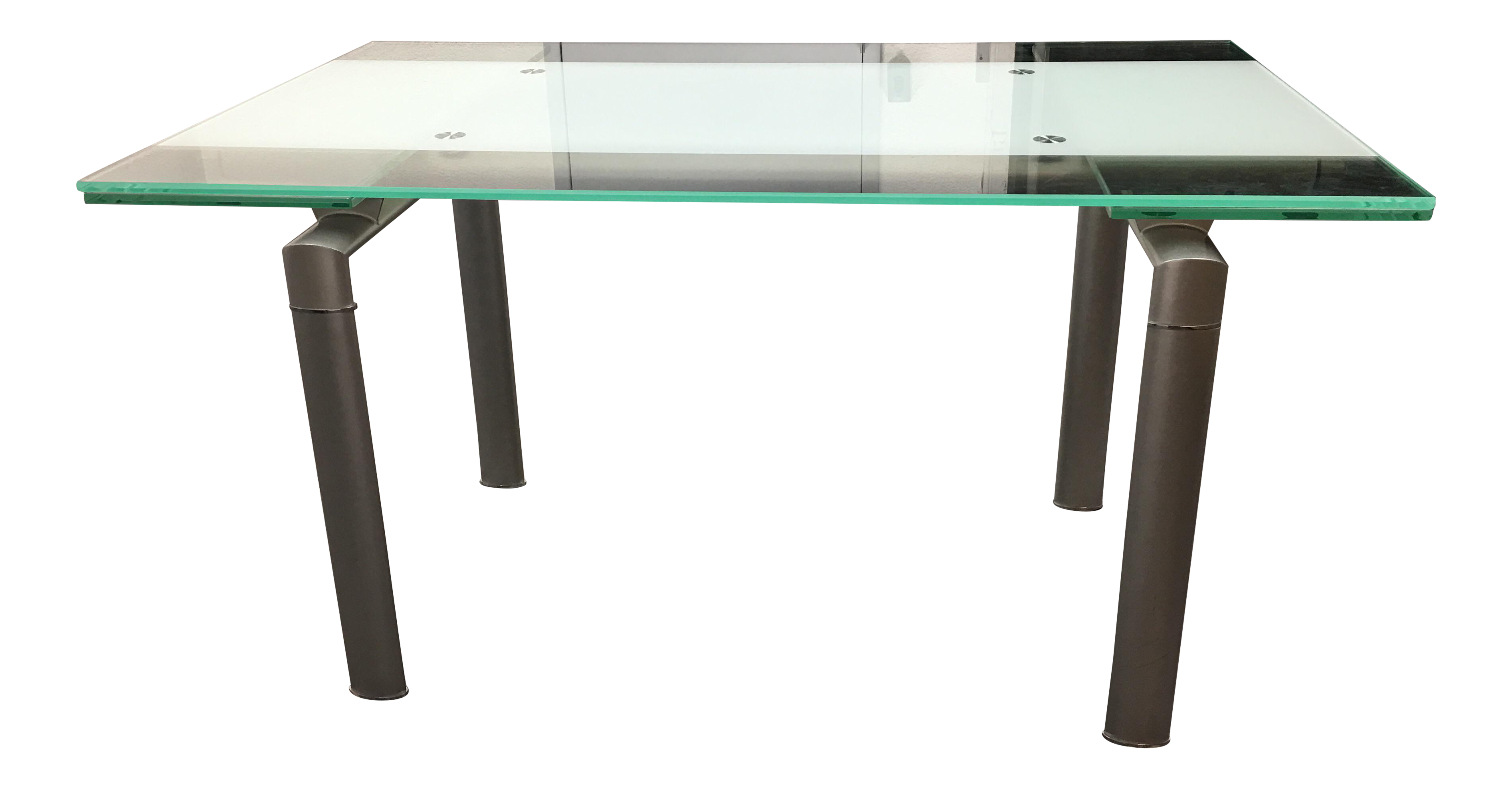 Modern Extendable Glass Top Chrome Dining Table Chairish : modern extendable glass top chrome dining table 7024 from www.chairish.com size 3788 x 1973 png 4548kB
