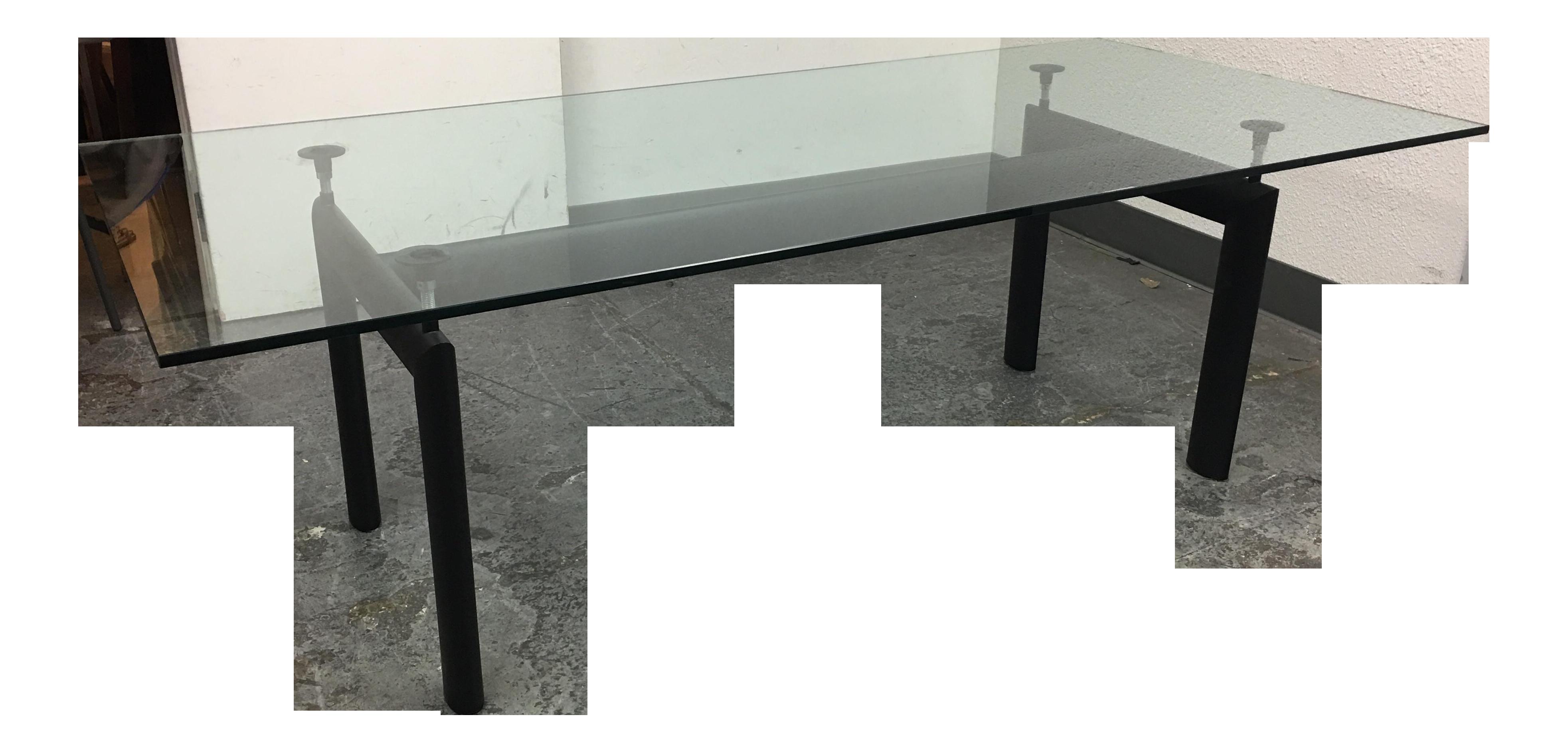 cassina lc6 table le corbusier chairish. Black Bedroom Furniture Sets. Home Design Ideas