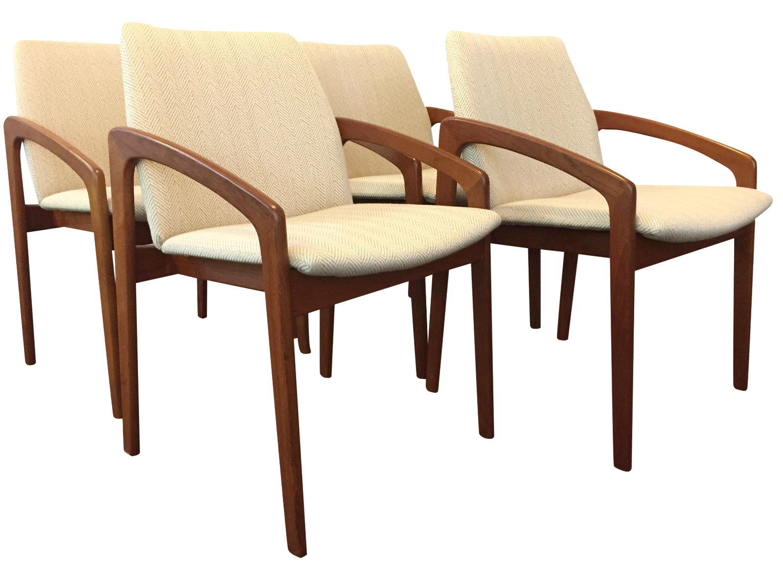 Kai kristiansen dining chairs set of 4 chairish - Kai kristiansen chairs ...