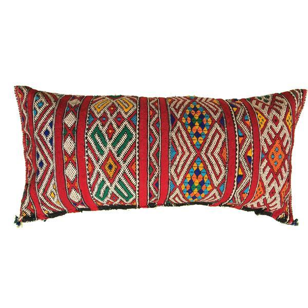 Vintage Moroccan Kilim Pillow Cover