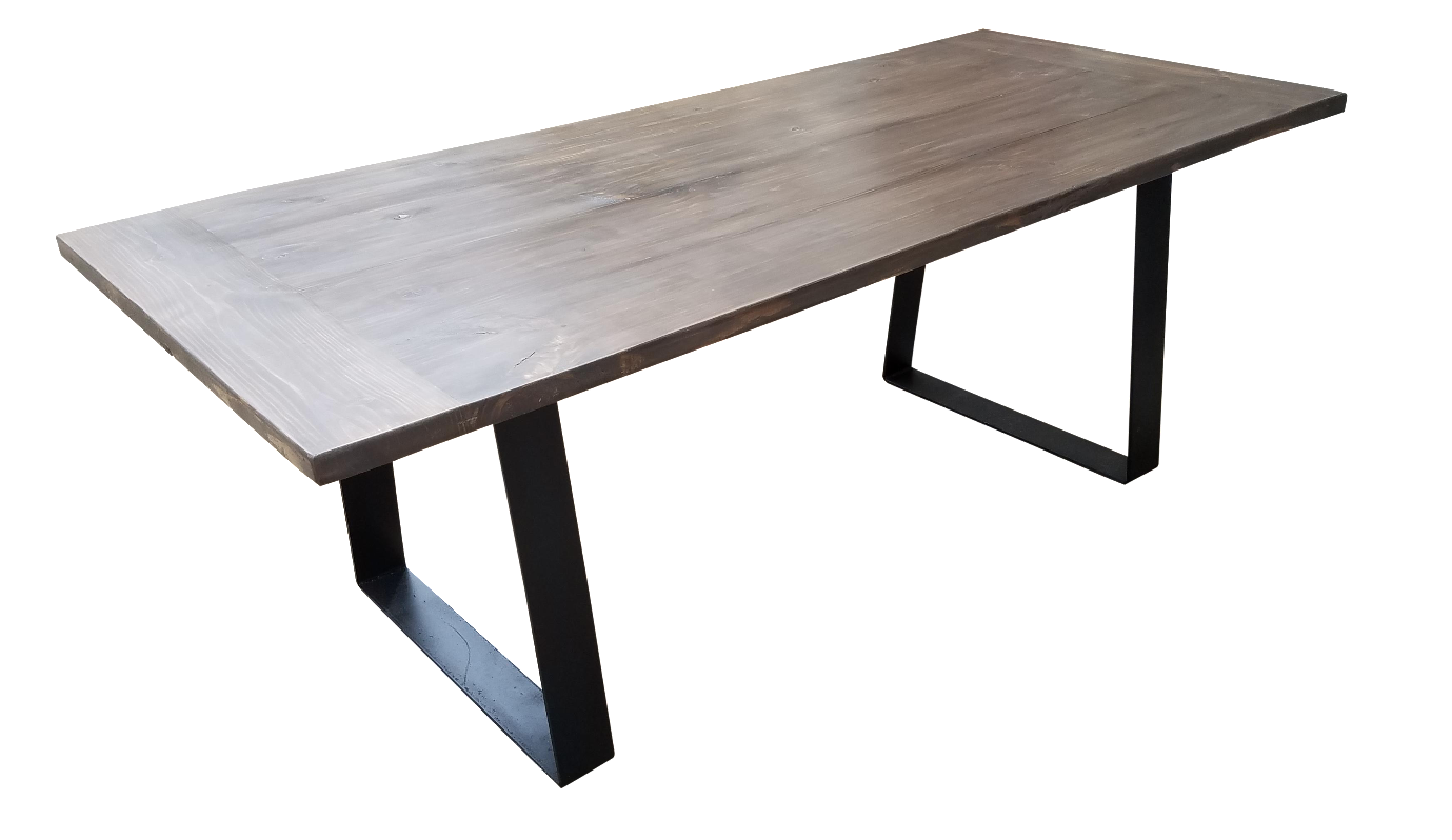 Modern Industrial Dining Table Chairish : 860f2963 3f00 4cde 83be db68fce62084 from www.chairish.com size 1379 x 798 png 362kB
