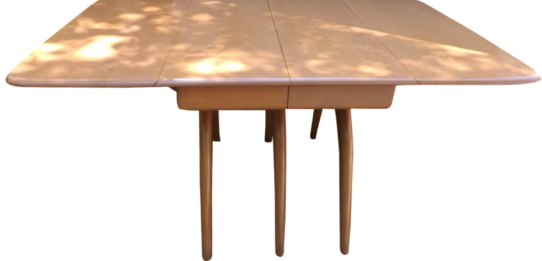 Heywood Wakefield Triple Whale Bone Dining Table Chairish