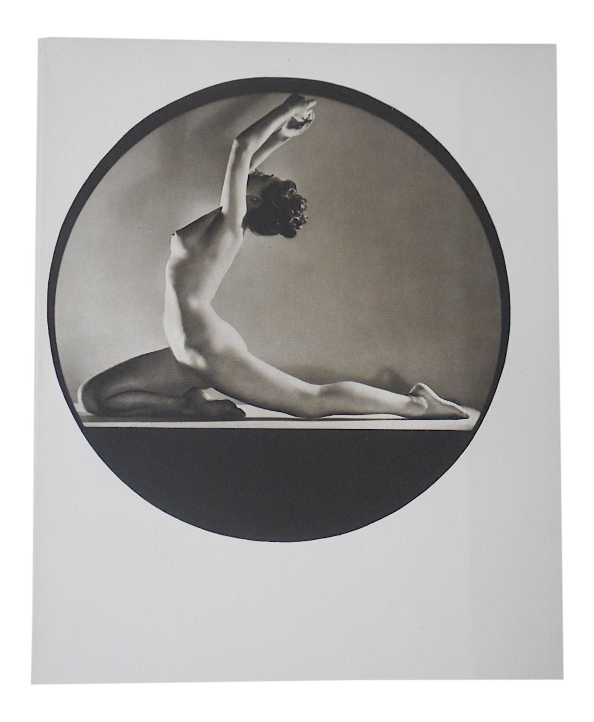 Vintage 1981 nude art graphite print drawing by john c