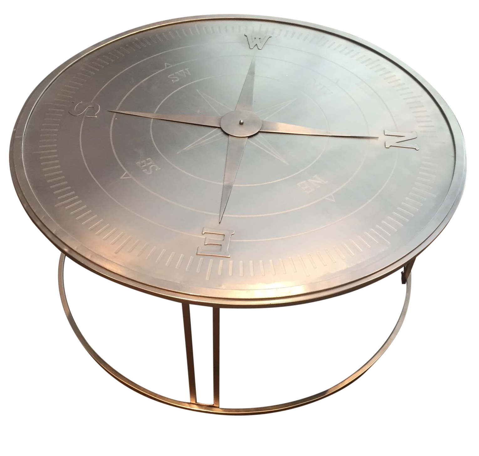 "pass"" Round Coffee Table"