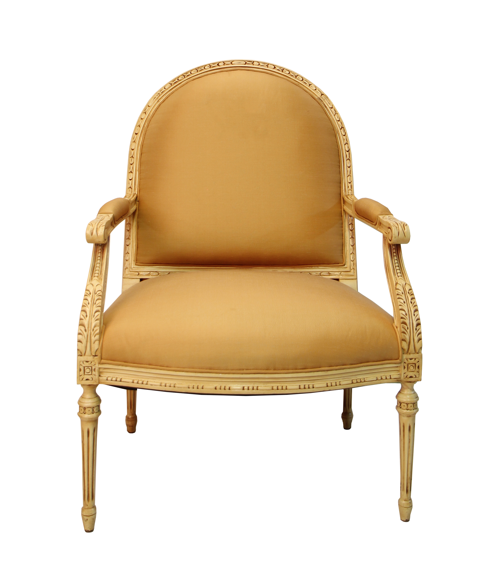 cream colored chairs colored accent arm chair chairish 13590 | 88102a36 daa5 42f7 a115 fe6b92137dc1