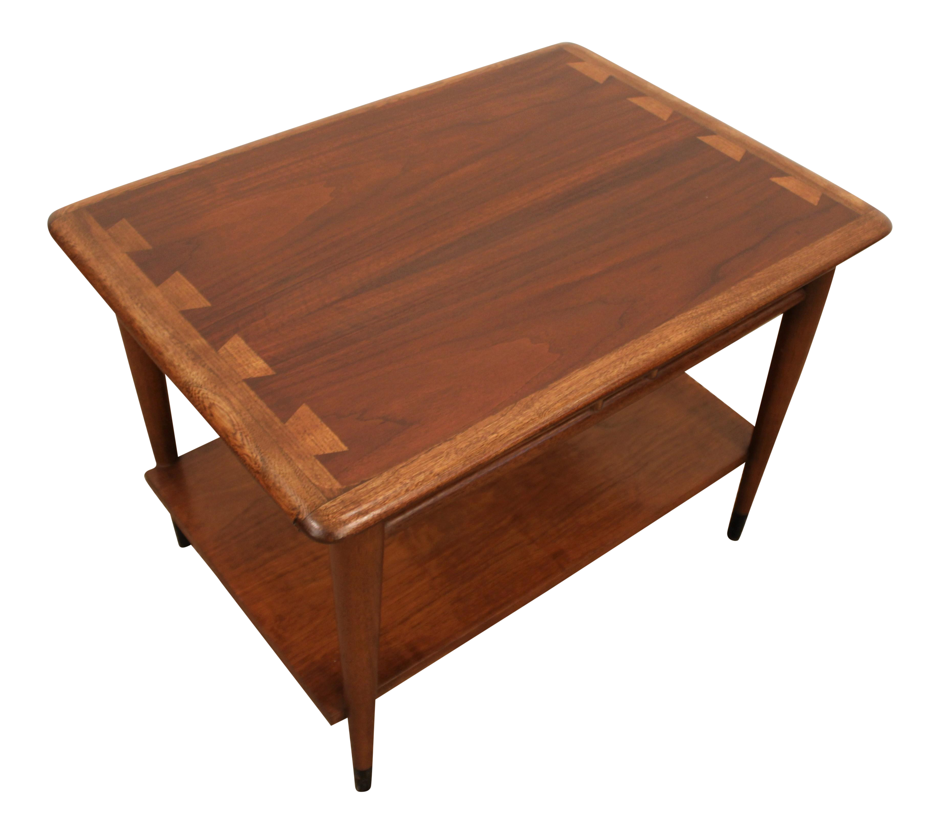 Andre Bus For Lane Mid Century Walnut Side Table Chairish