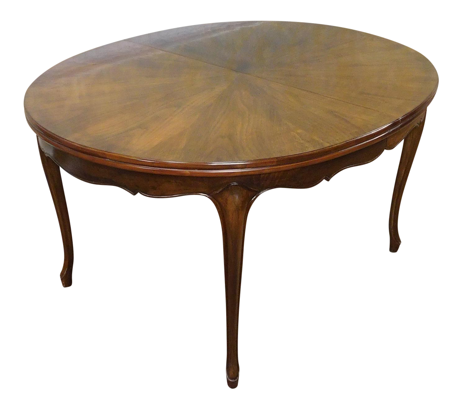 Fruitwood Cherry Oval French Provincial Style Baker Furniture Dining Table    Chairish. Fruitwood Cherry Oval French Provincial Style Baker Furniture