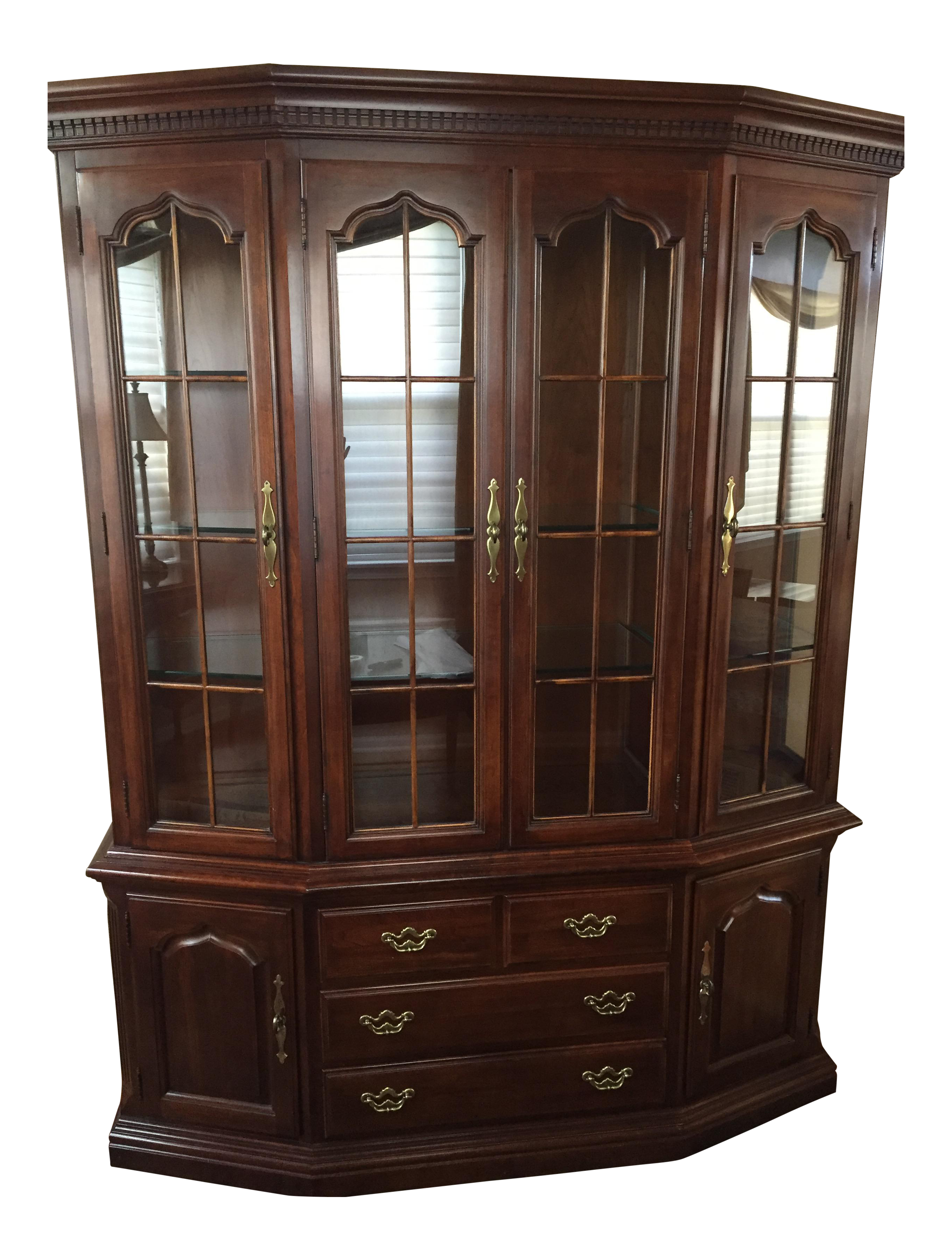Thomasville American Drew China Cabinet Chairish